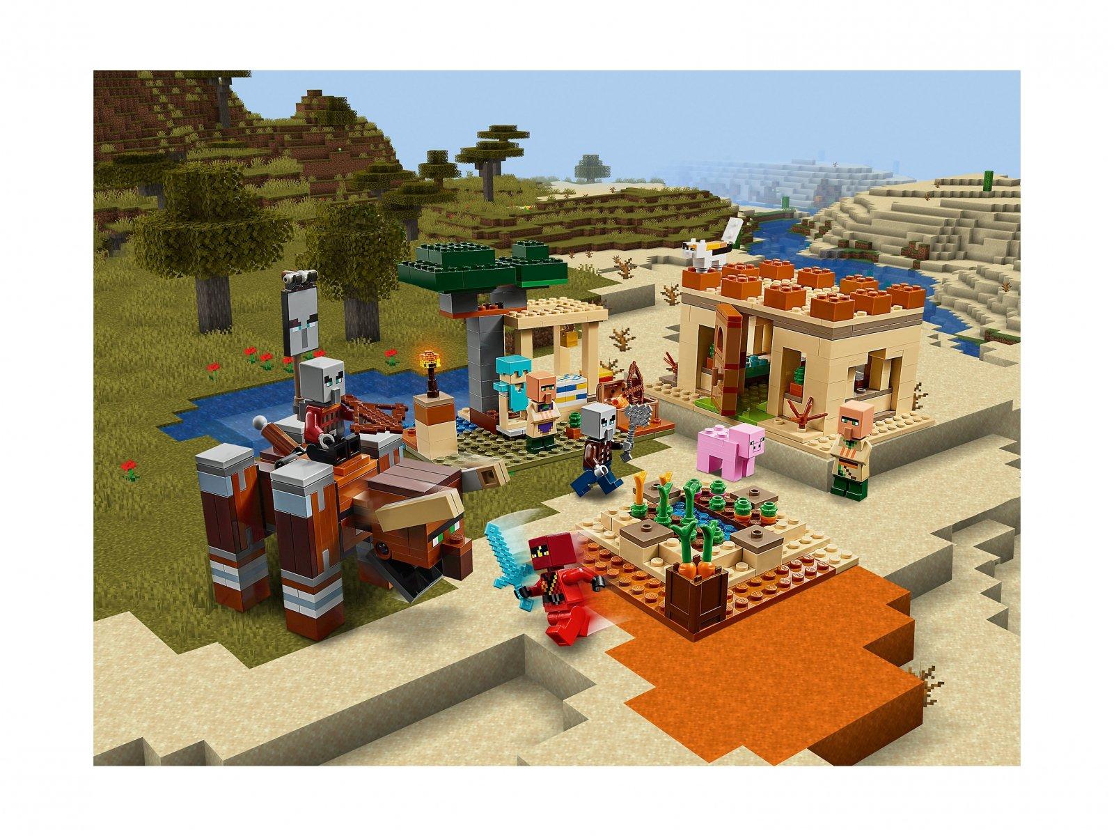 LEGO 21160 Minecraft™ Najazd złosadników