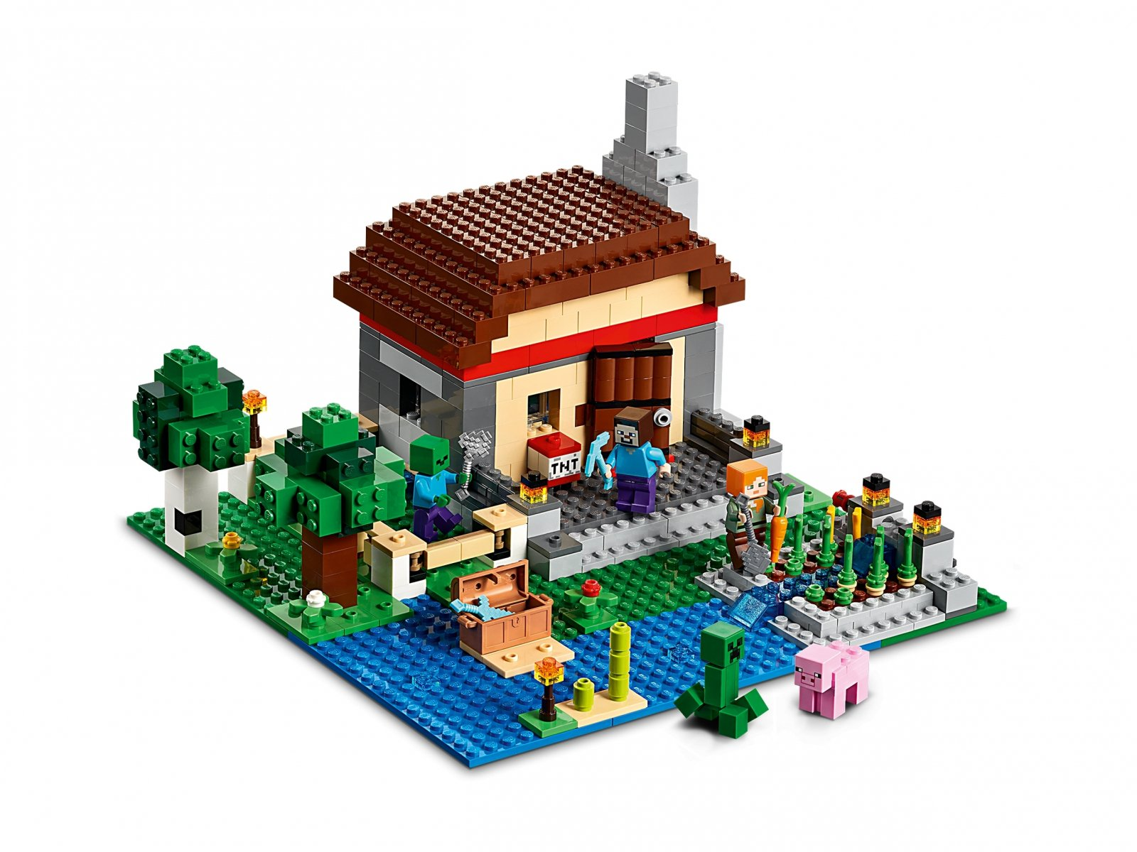 LEGO 21161 Minecraft Kreatywny warsztat 3.0