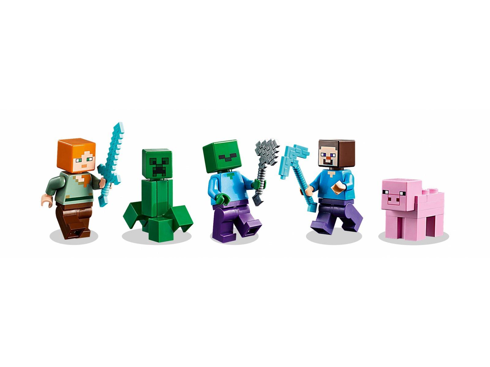 LEGO Minecraft 21161 Kreatywny warsztat 3.0