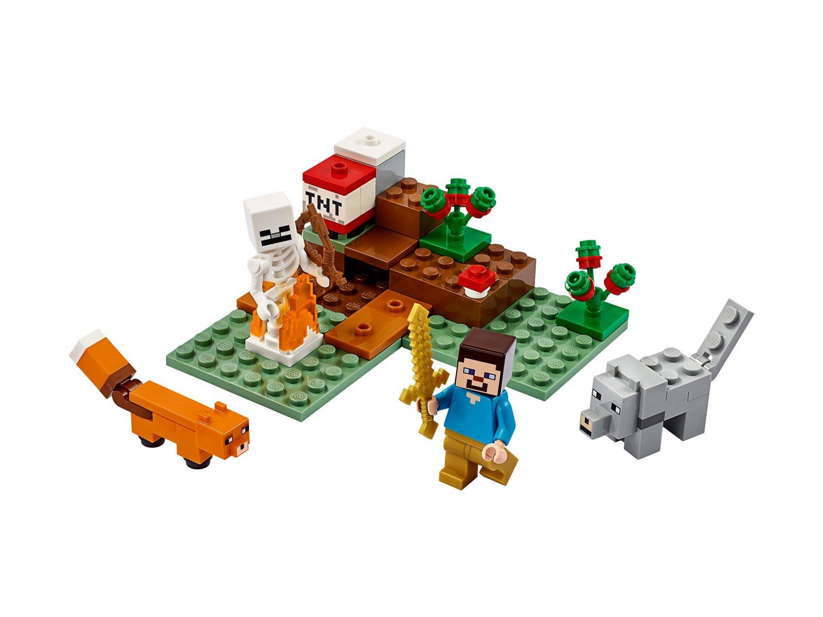 LEGO Minecraft™ 21162 Przygoda w tajdze