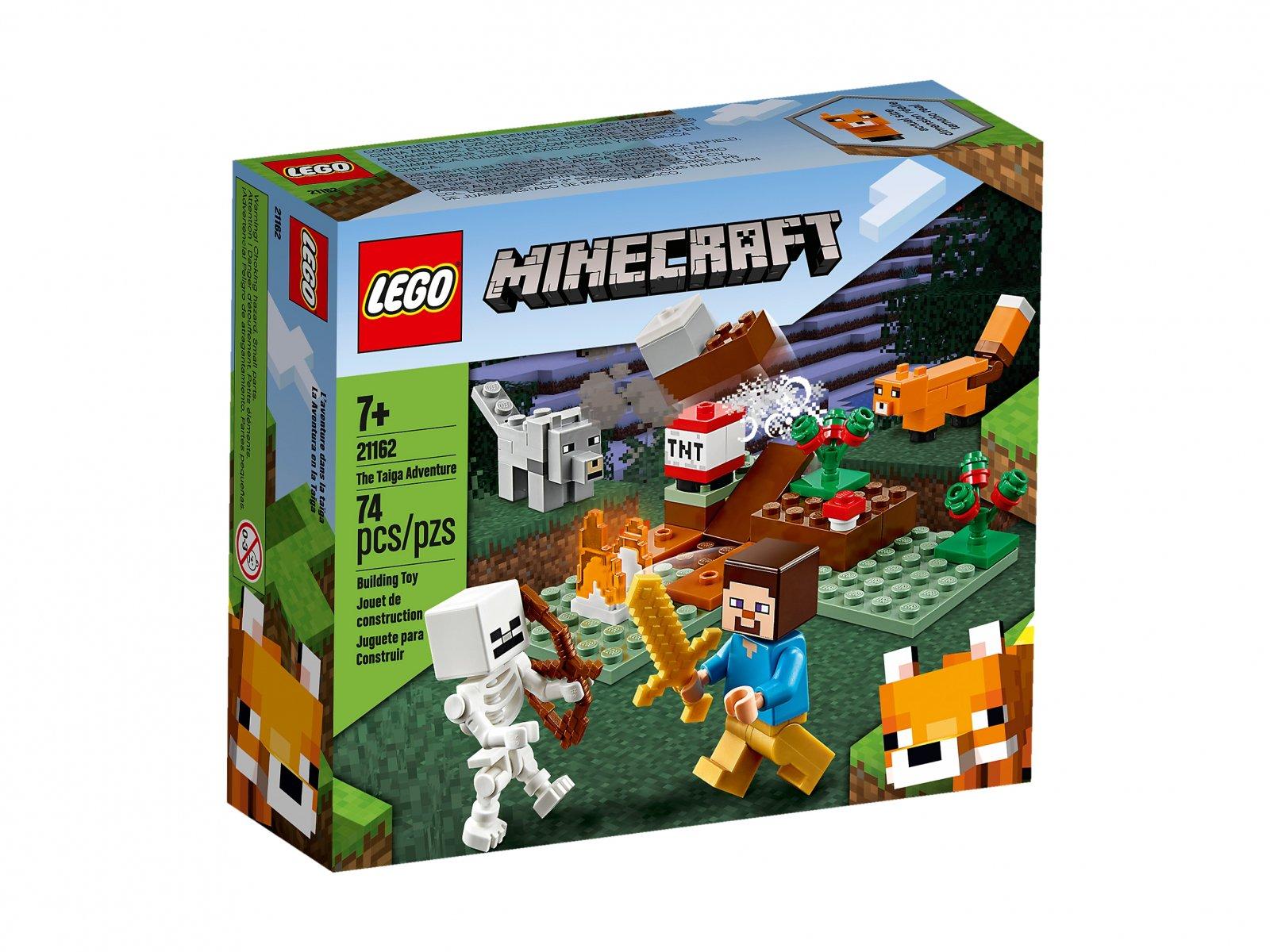 LEGO 21162 Przygoda w tajdze