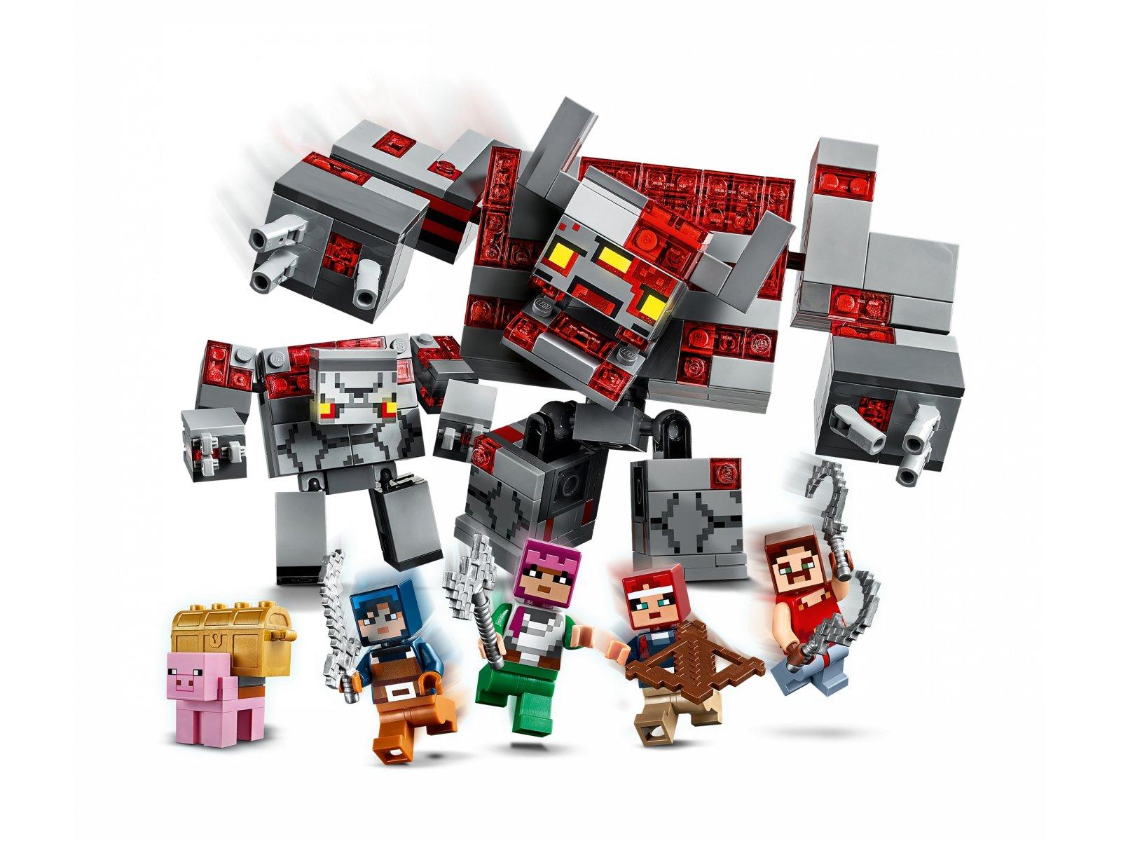 LEGO Minecraft™ Bitwa o czerwony kamień 21163