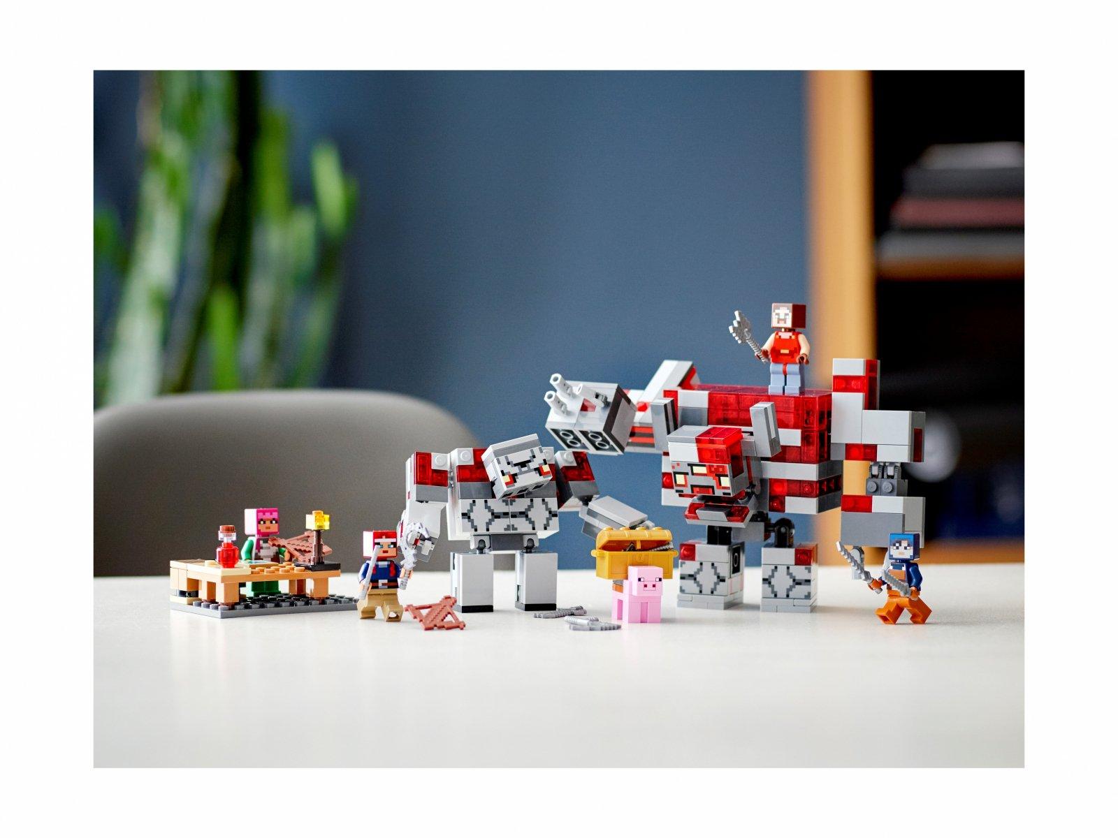 LEGO 21163 Minecraft™ Bitwa o czerwony kamień