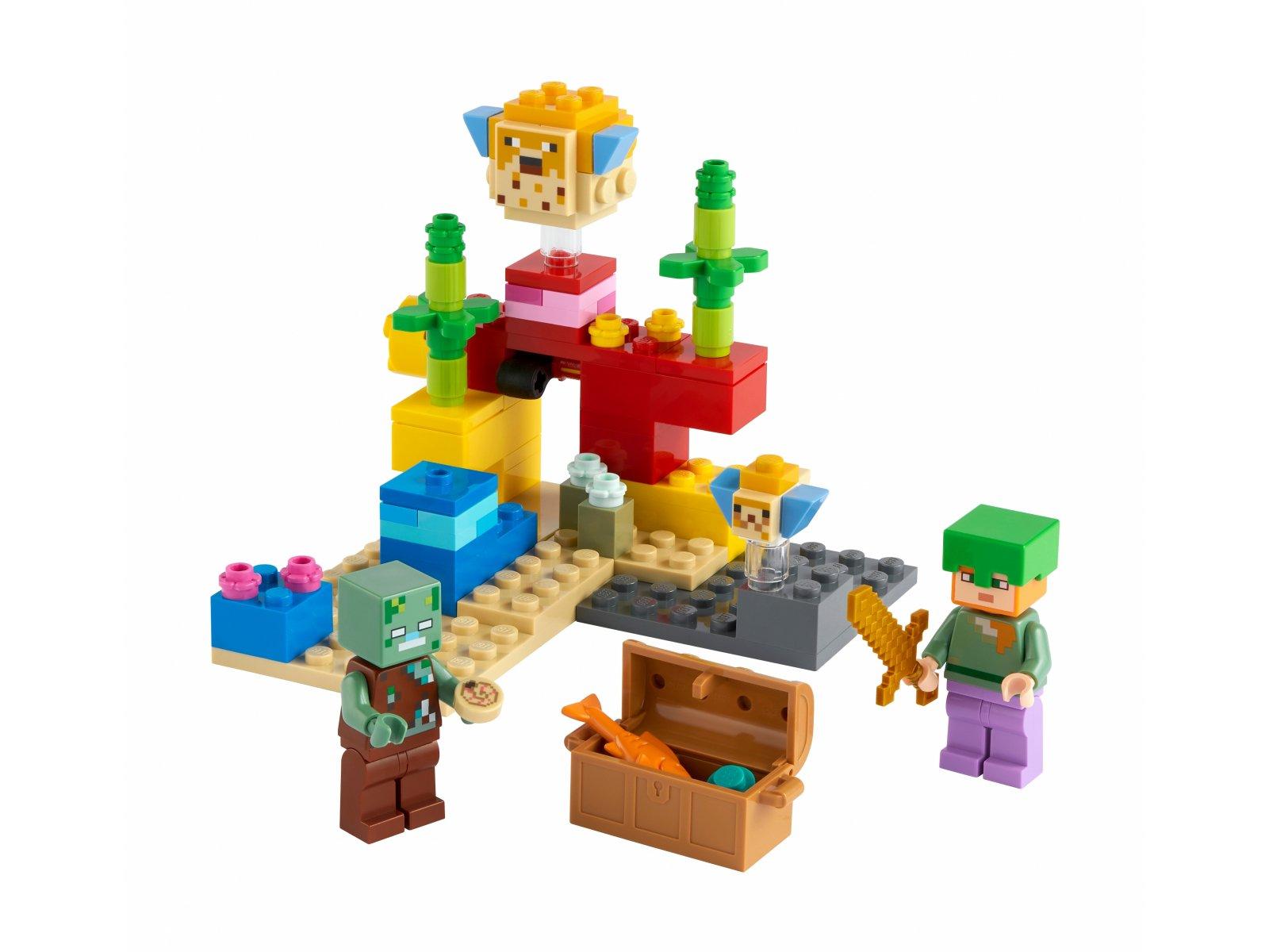 LEGO Minecraft 21164 Rafa koralowa