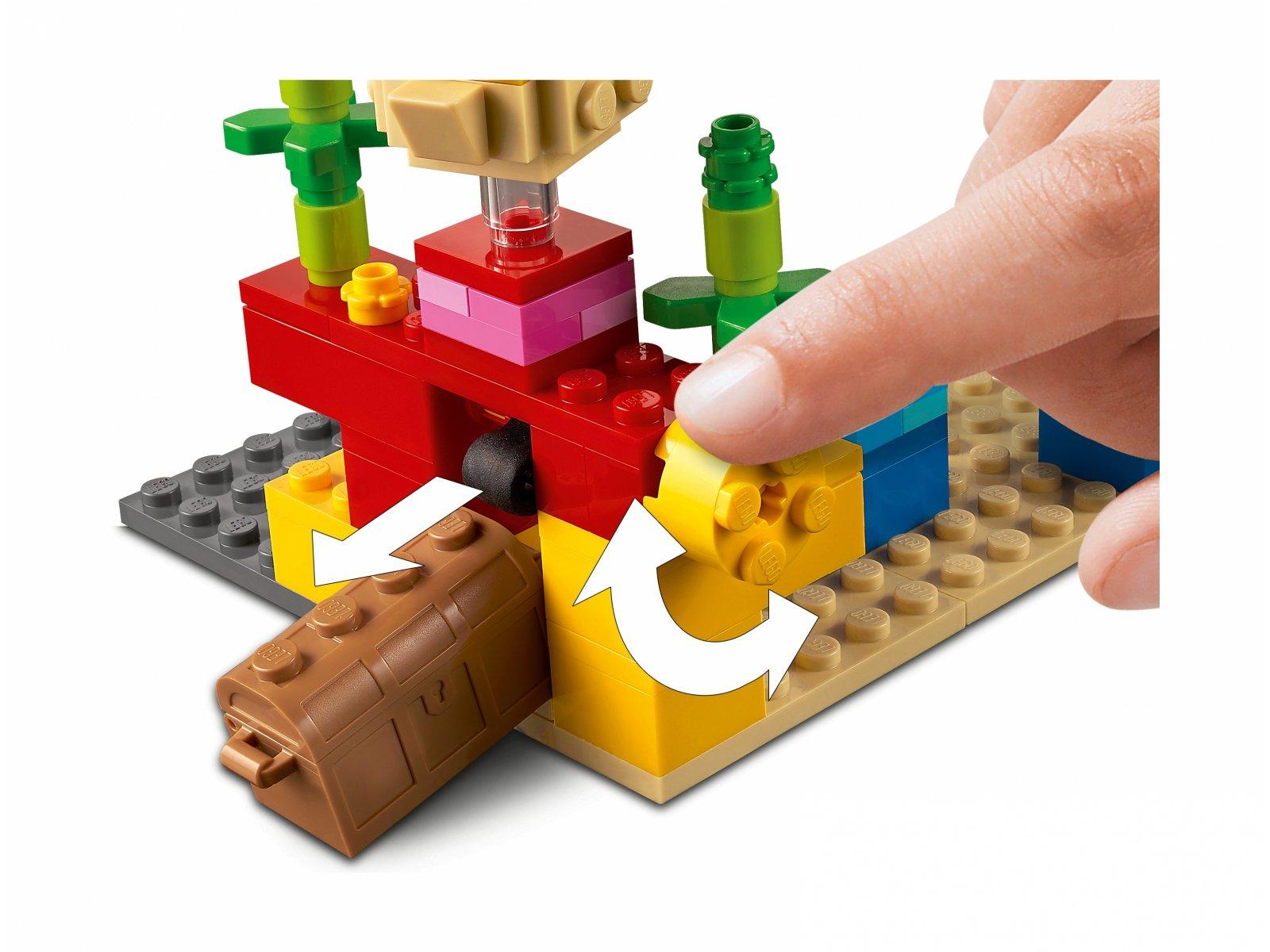 LEGO Minecraft™ 21164 Rafa koralowa