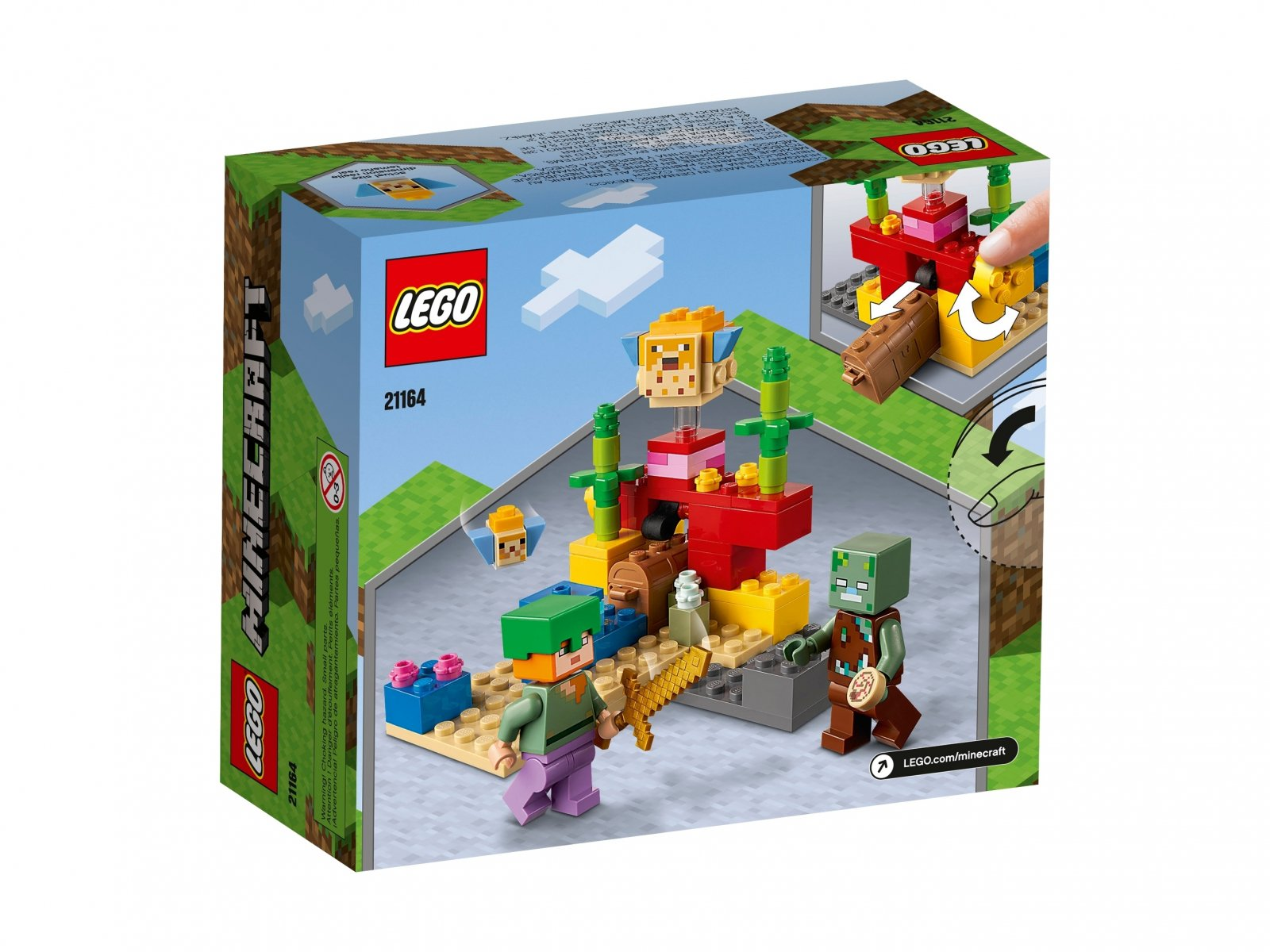 LEGO 21164 Minecraft™ Rafa koralowa