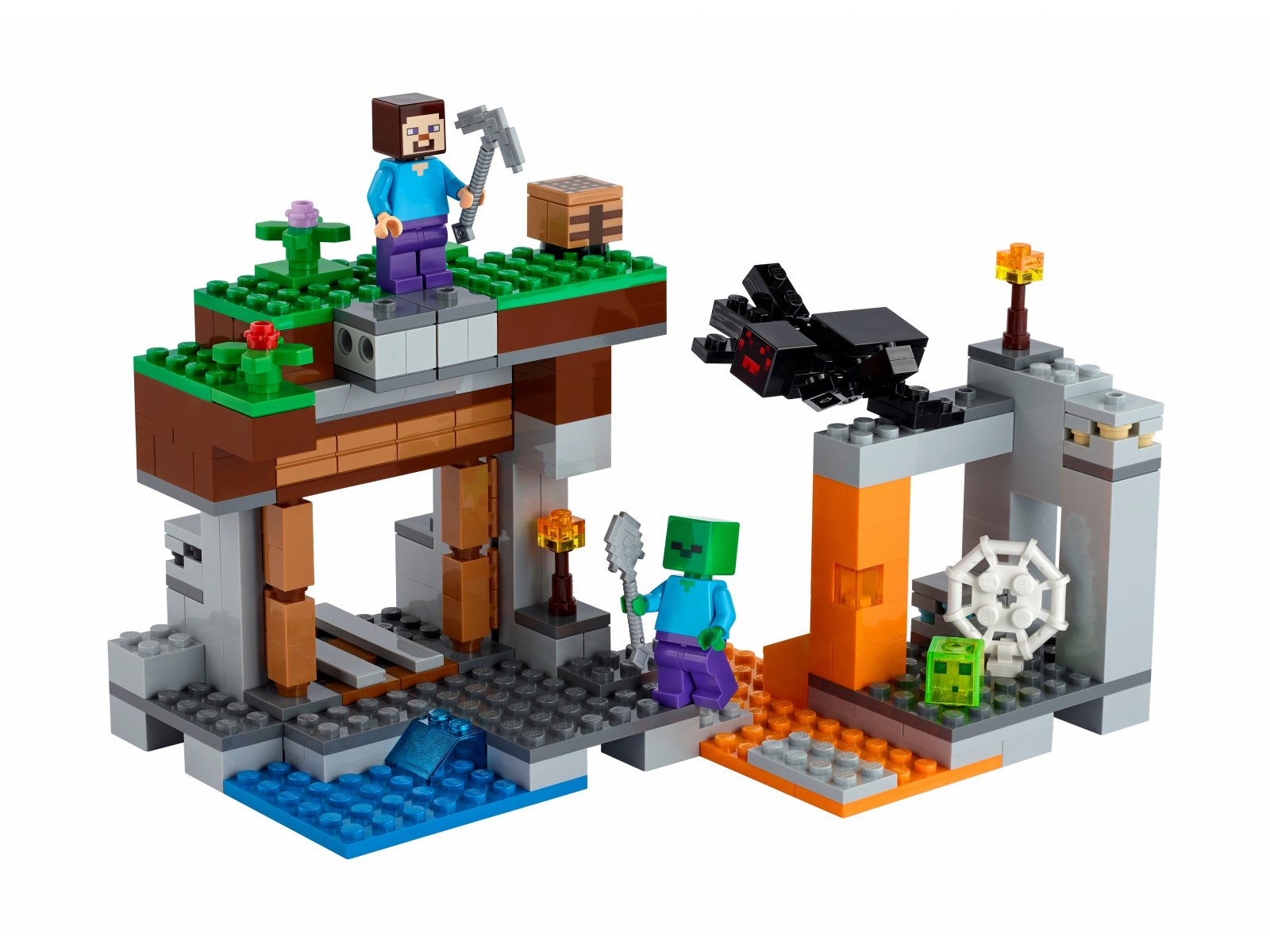 "LEGO Minecraft ""Opuszczona"" kopalnia 21166"