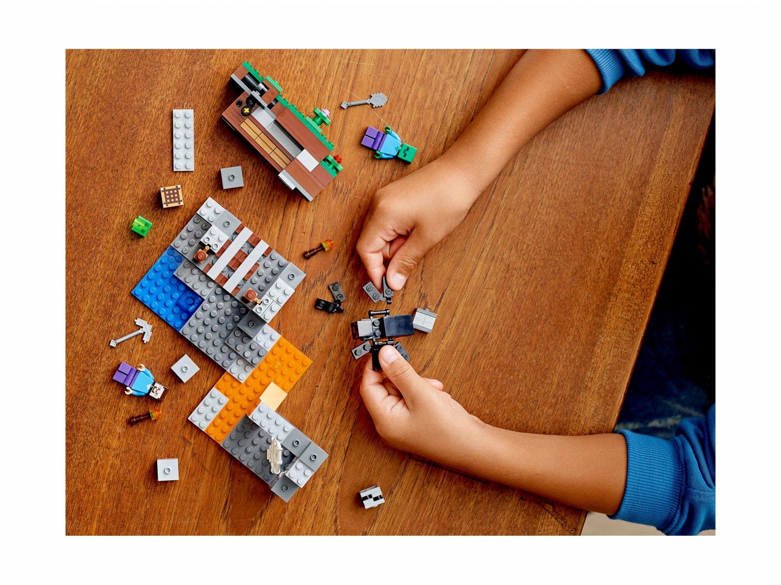 """LEGO 21166 """"Opuszczona"""" kopalnia"""