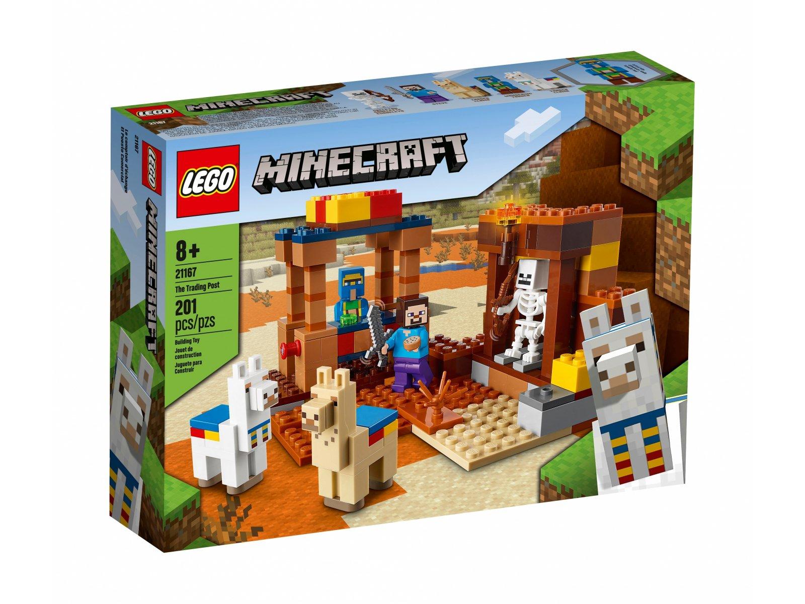 LEGO Minecraft 21167 Punkt handlowy