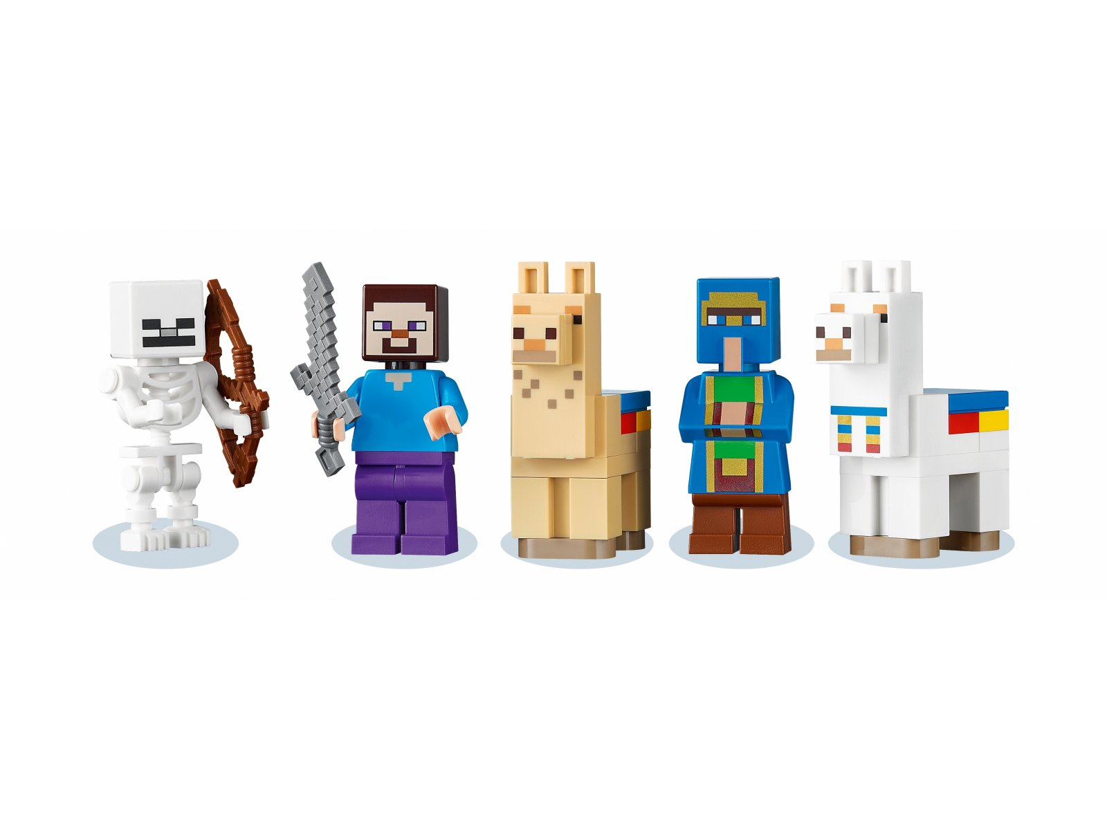 LEGO Minecraft Punkt handlowy 21167