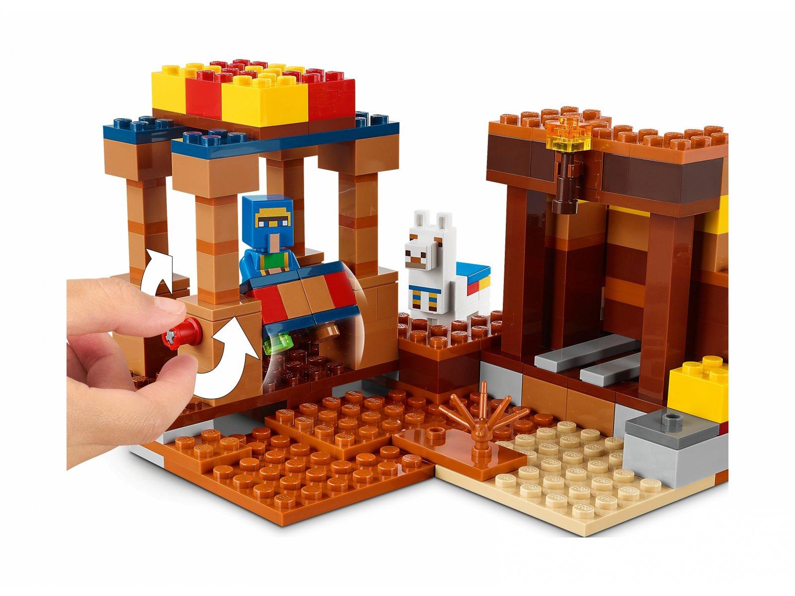 LEGO 21167 Minecraft Punkt handlowy