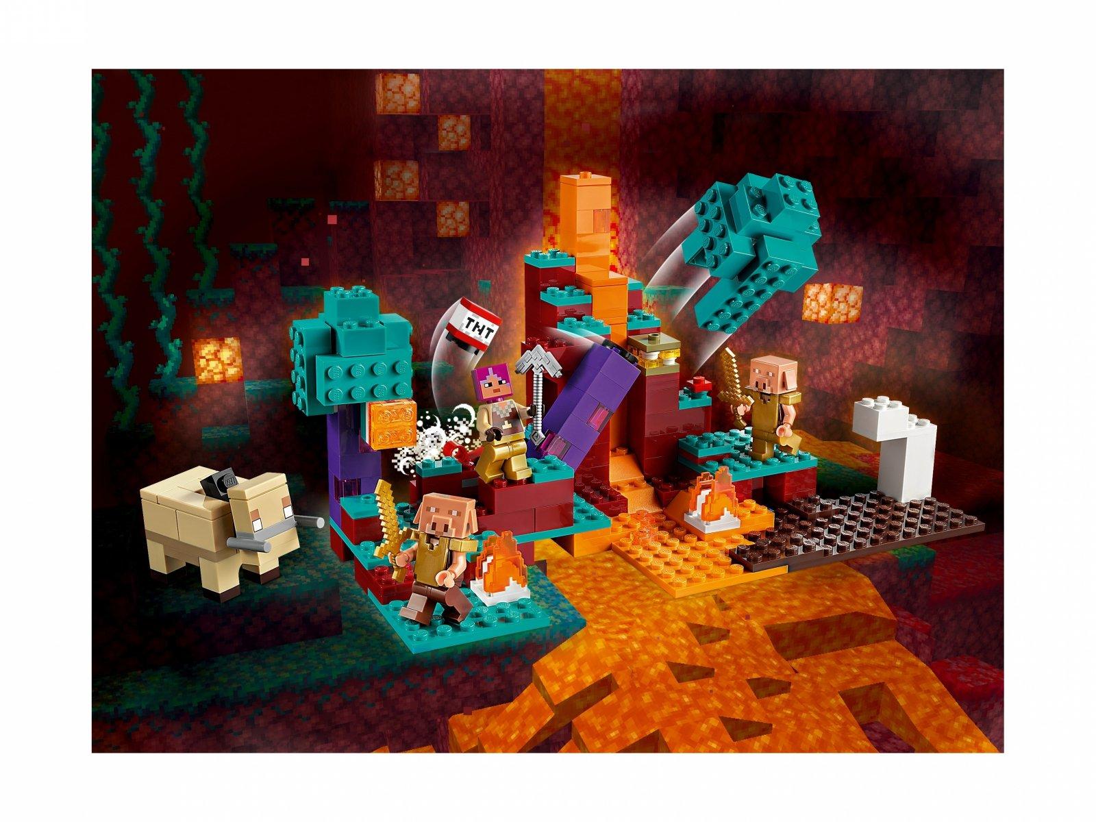 LEGO Minecraft Spaczony las 21168