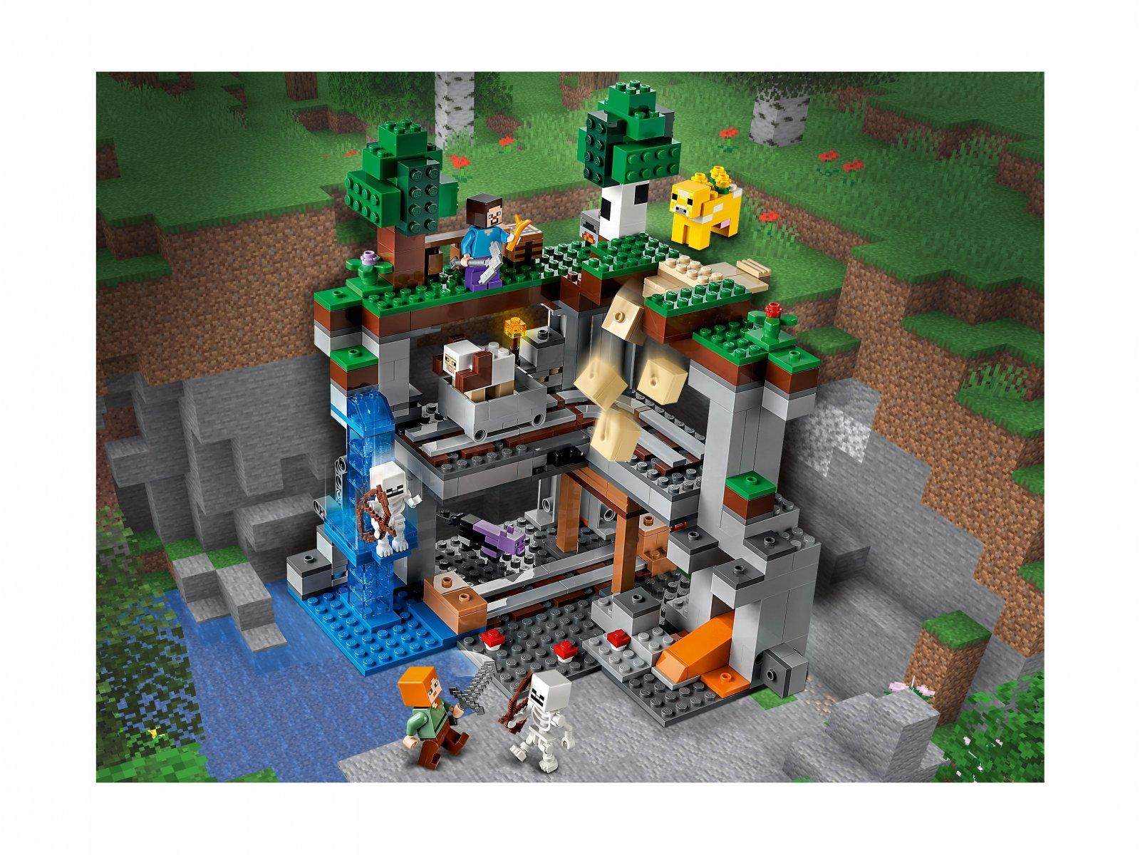 LEGO 21169 Minecraft Pierwsza przygoda