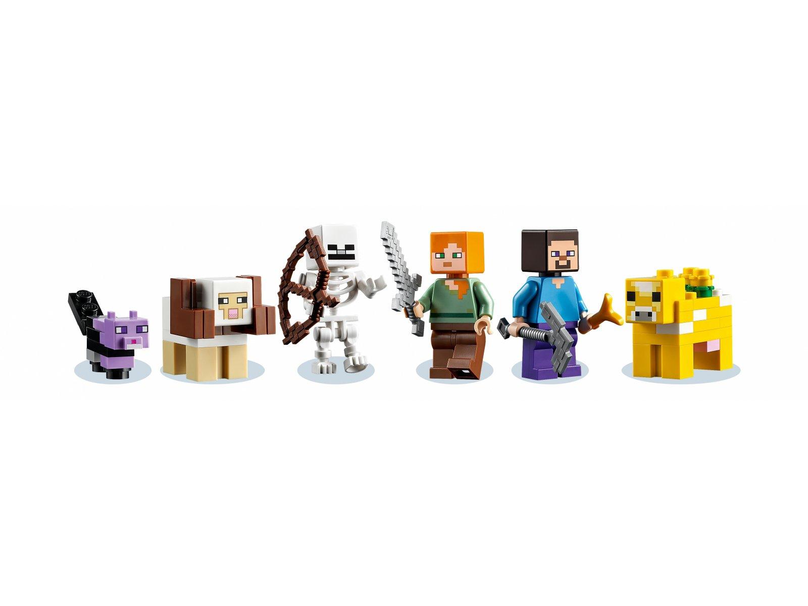LEGO Minecraft Pierwsza przygoda 21169