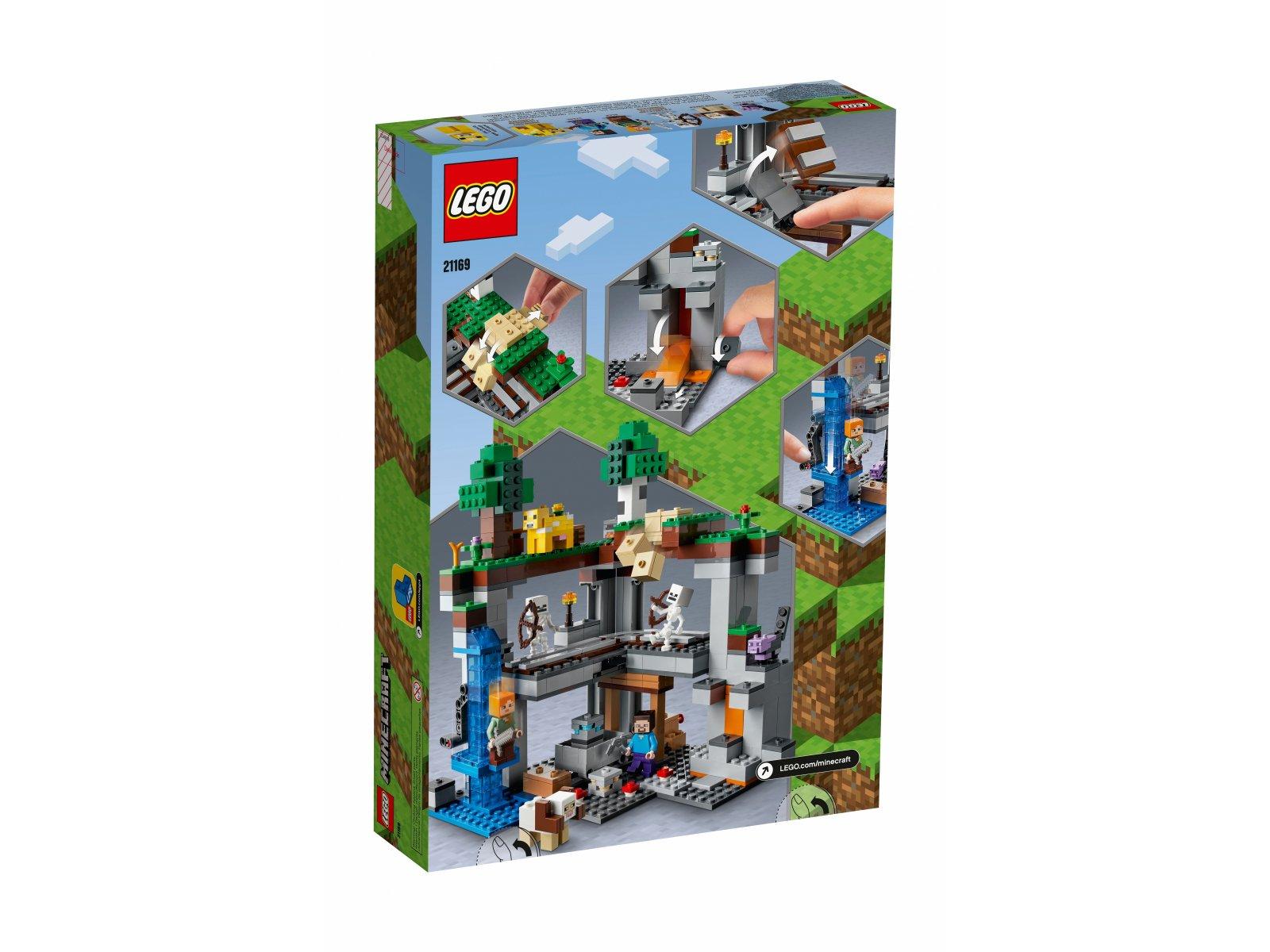 LEGO Minecraft 21169 Pierwsza przygoda