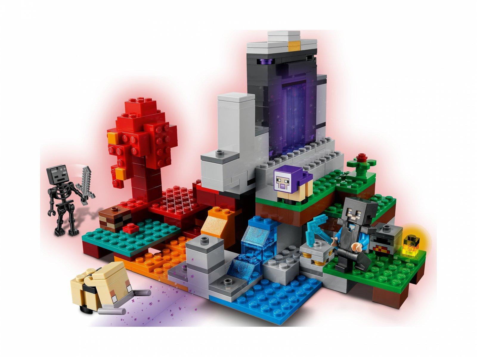 LEGO 21172 Minecraft Zniszczony portal
