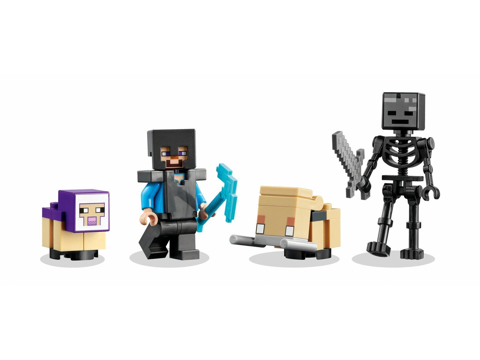 LEGO Minecraft Zniszczony portal 21172