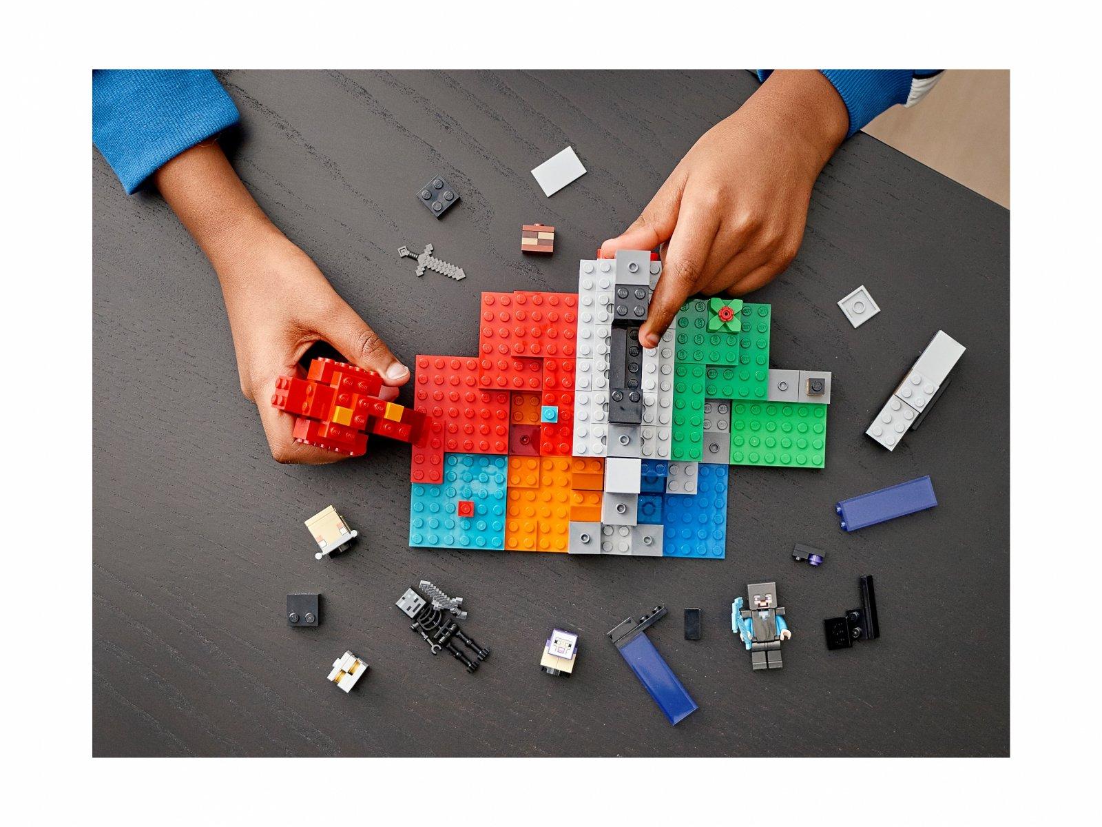 LEGO Minecraft 21172 Zniszczony portal