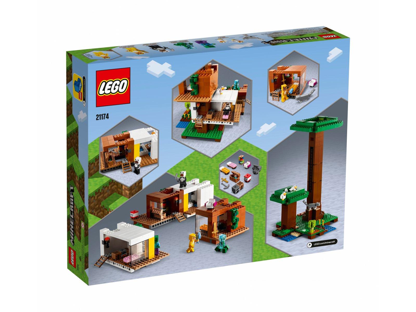 LEGO 21174 Nowoczesny domek na drzewie