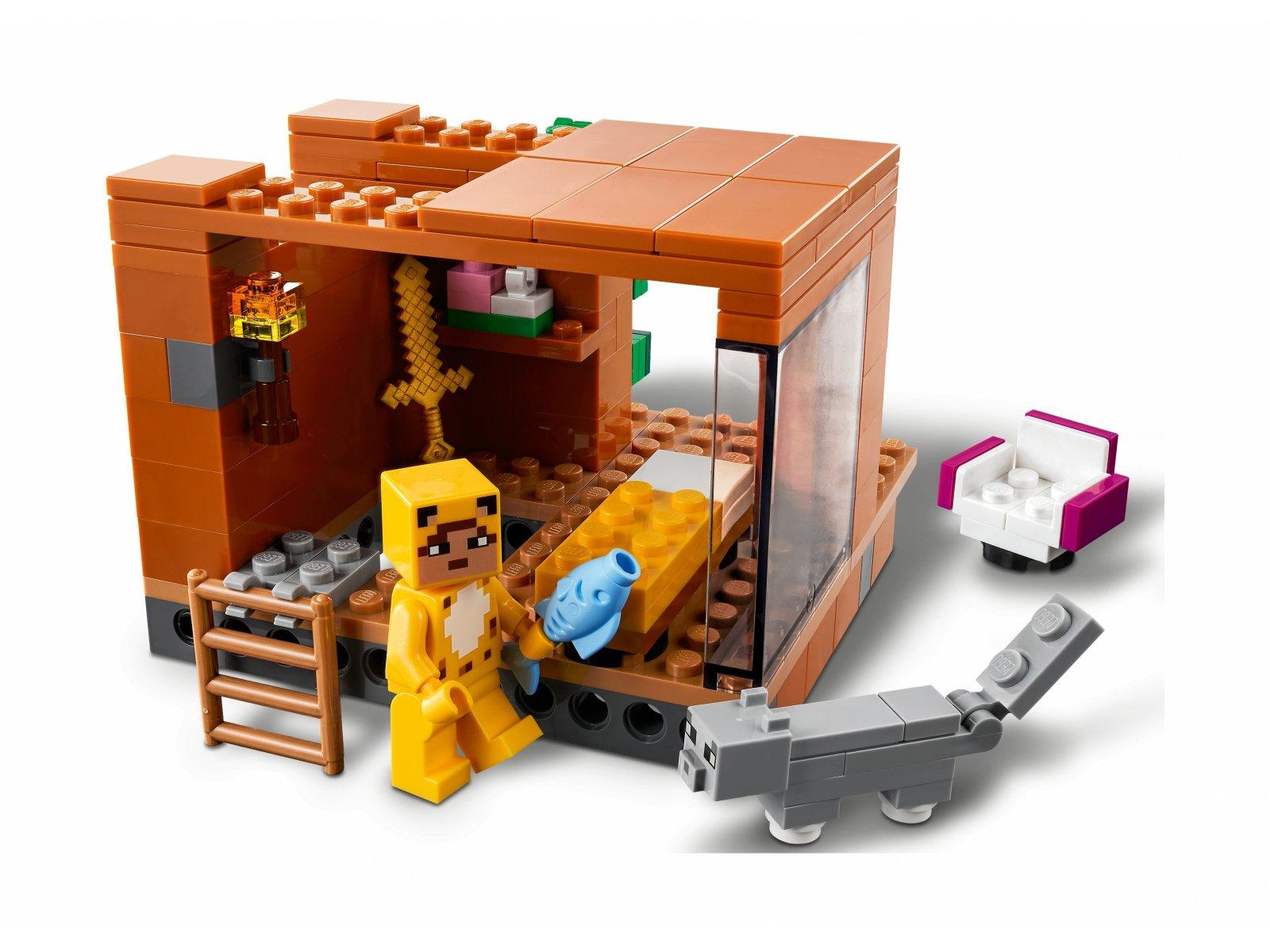 LEGO Minecraft Nowoczesny domek na drzewie 21174