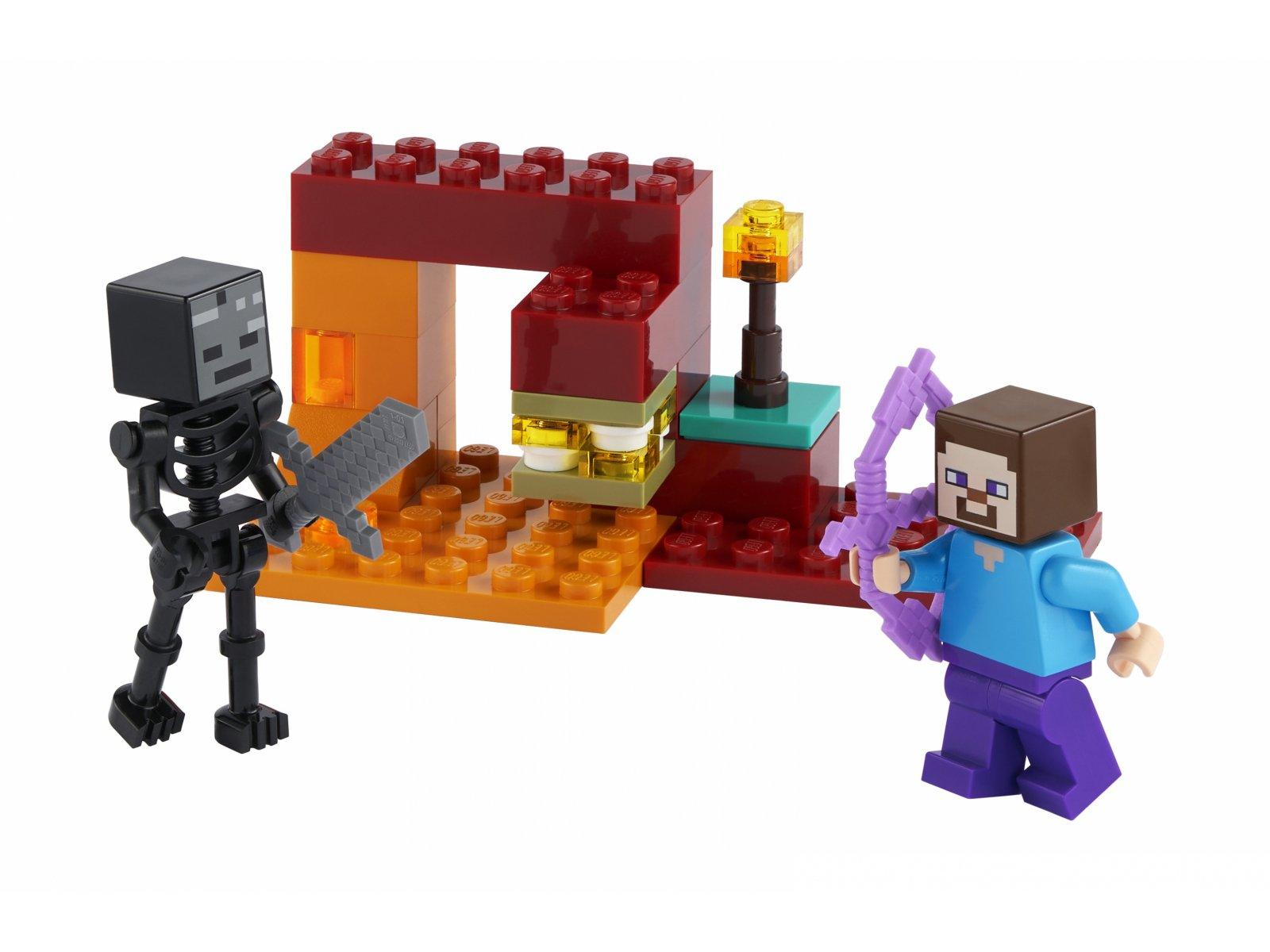 LEGO 30331 Minecraft Pojedynek w Netherze