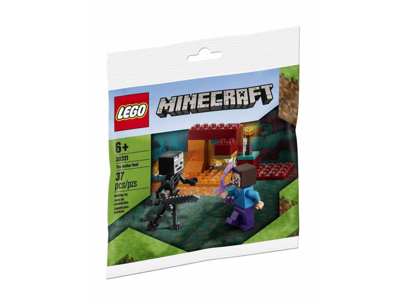 LEGO Minecraft Pojedynek w Netherze 30331