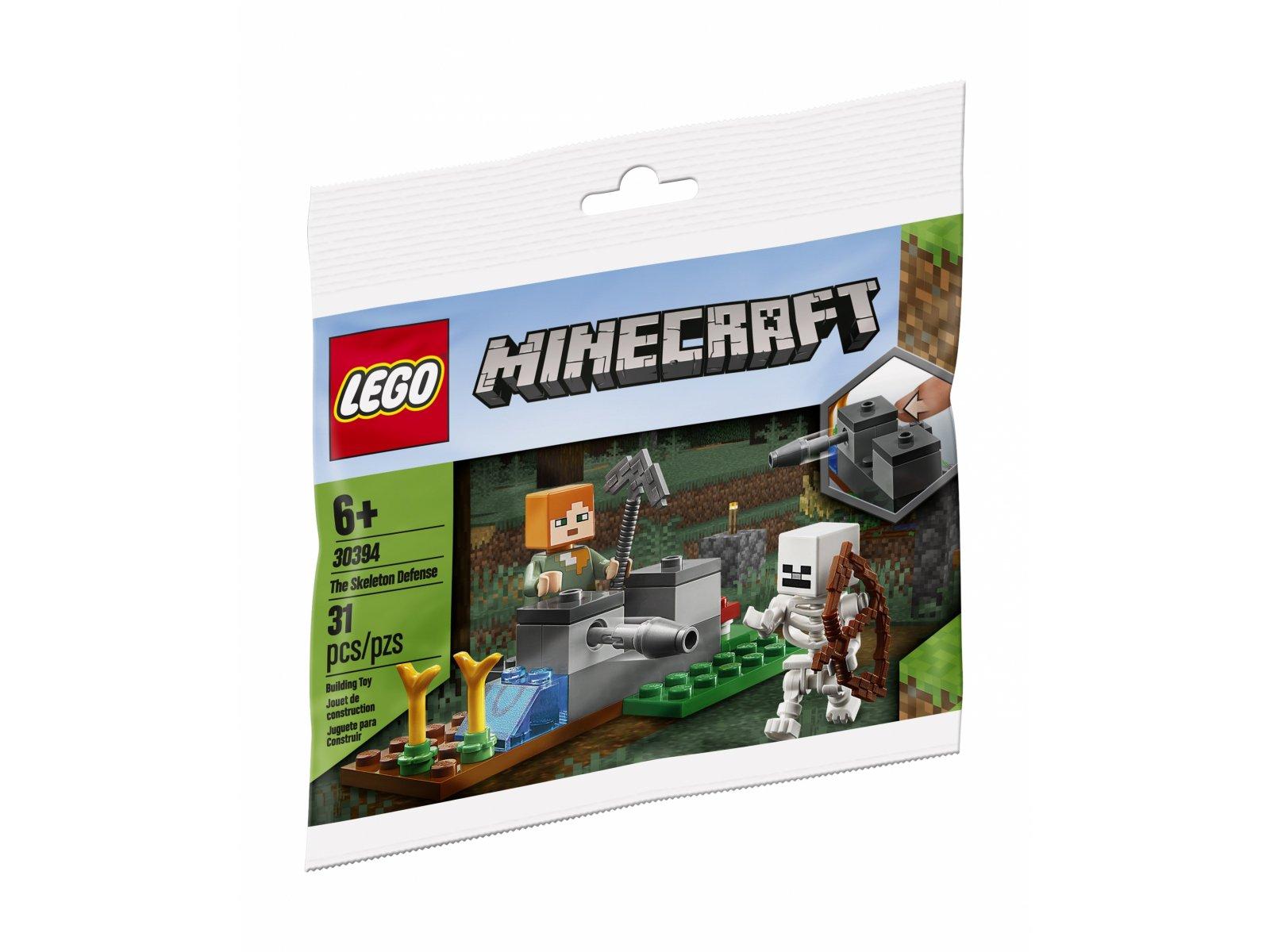 LEGO Minecraft Obrona przed szkieletami 30394