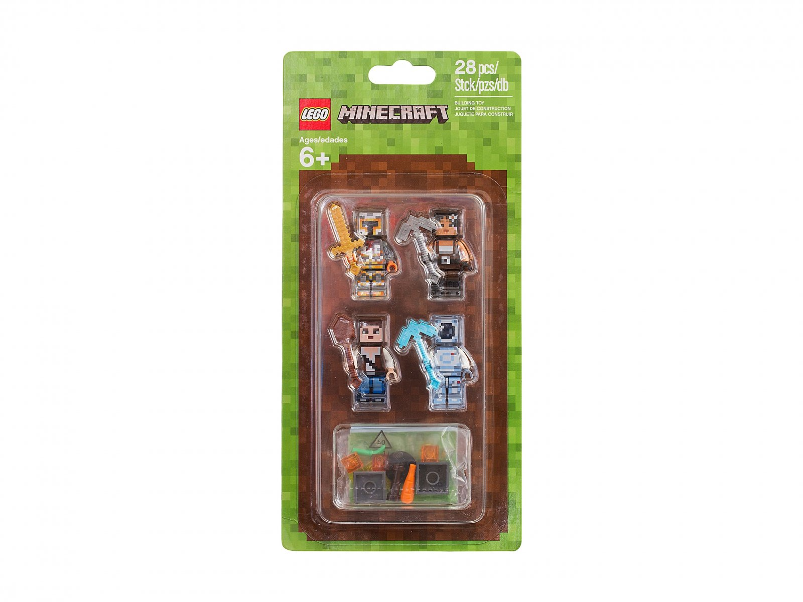5b111b42d LEGO 853610 Minecraft Zestaw do stylizacji 2 | zklocków.pl