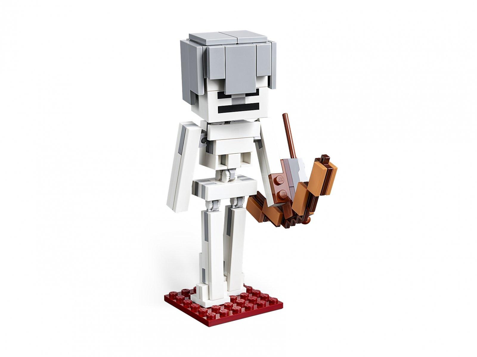 LEGO Minecraft BigFig 21150 Szkielet z kostką magmy