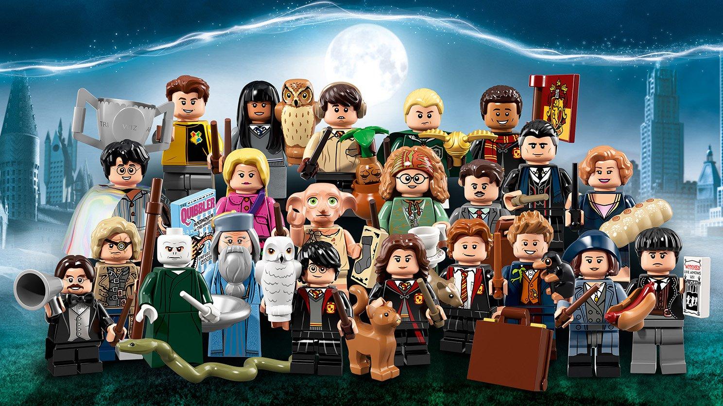 LEGO Minifigures 71022 Harry Potter™ i Fantastyczne zwierzęta™