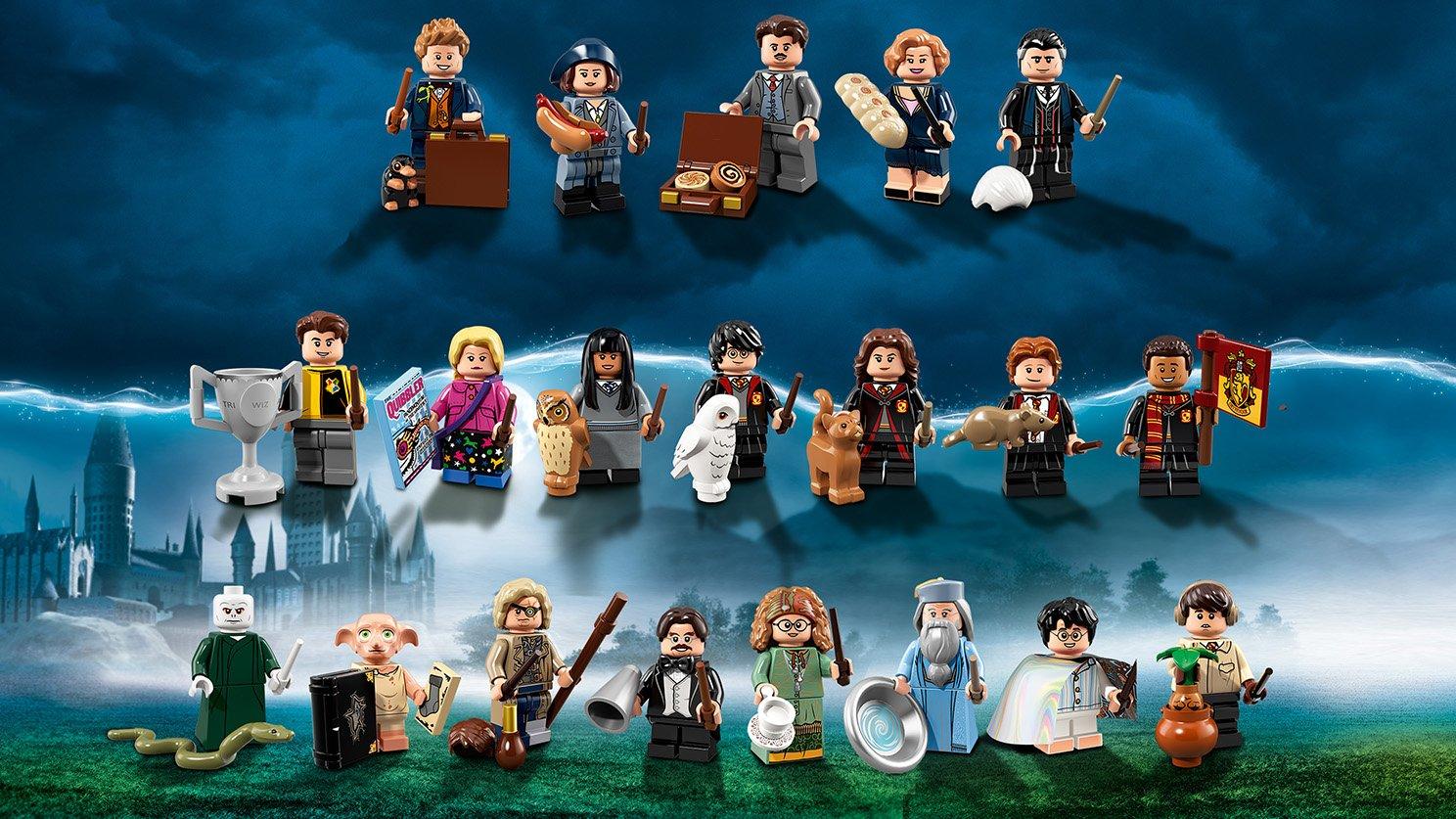 LEGO 71022 Minifigures Harry Potter™ i Fantastyczne zwierzęta™