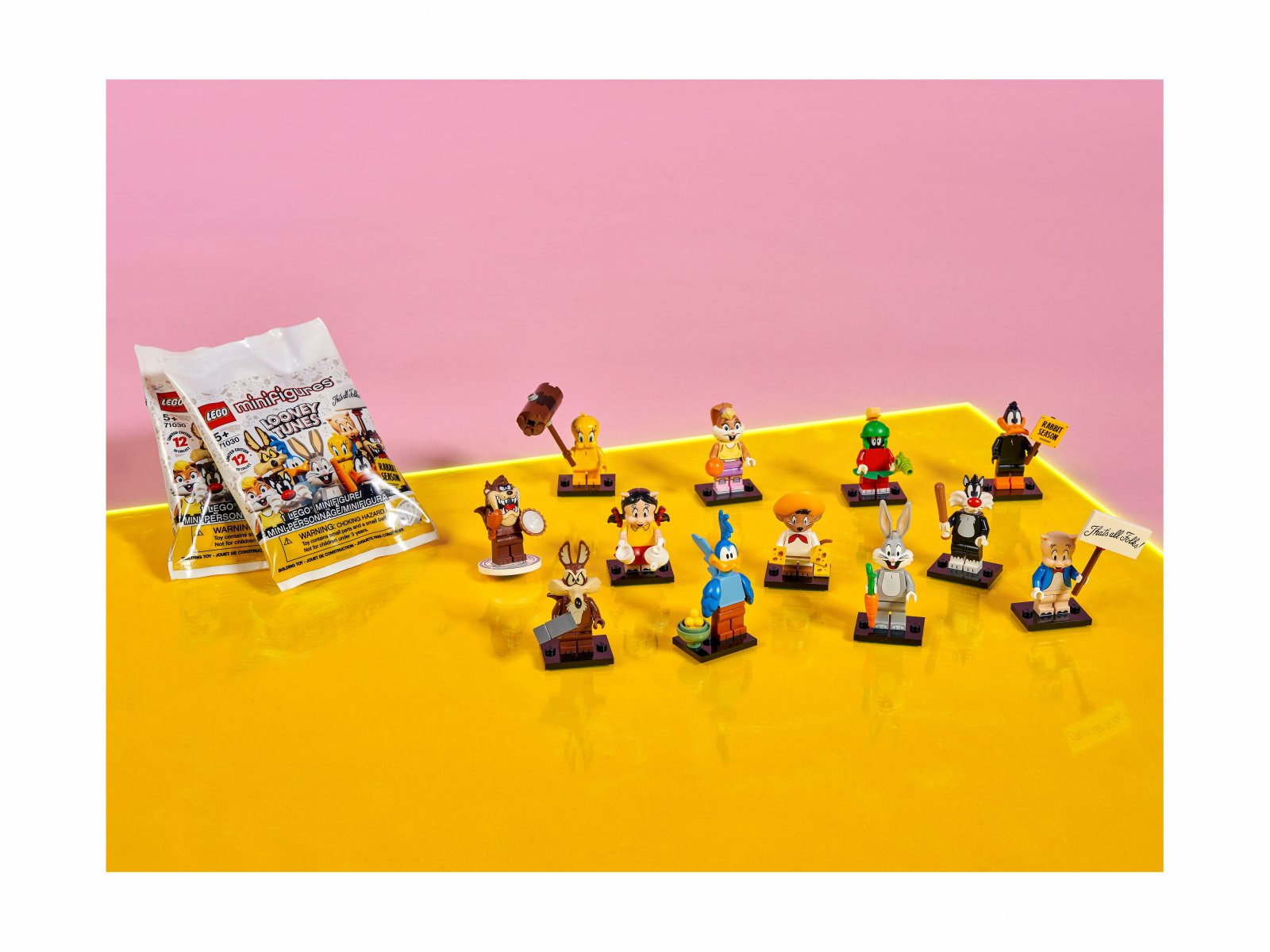LEGO Minifigures 71030 Zwariowane melodie™