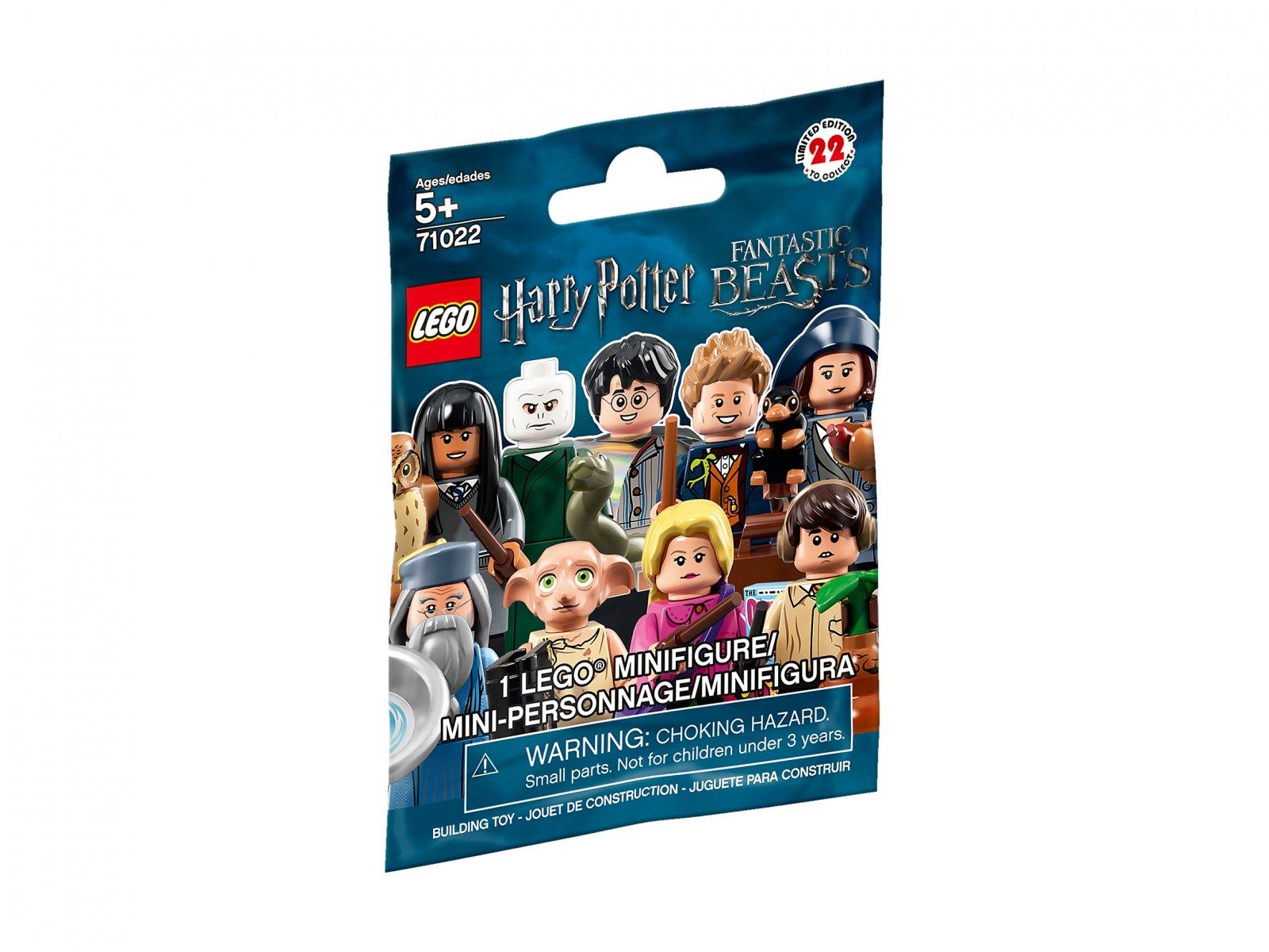 LEGO 71022 Minifigurki Harry Potter™ i Fantastyczne zwierzęta™