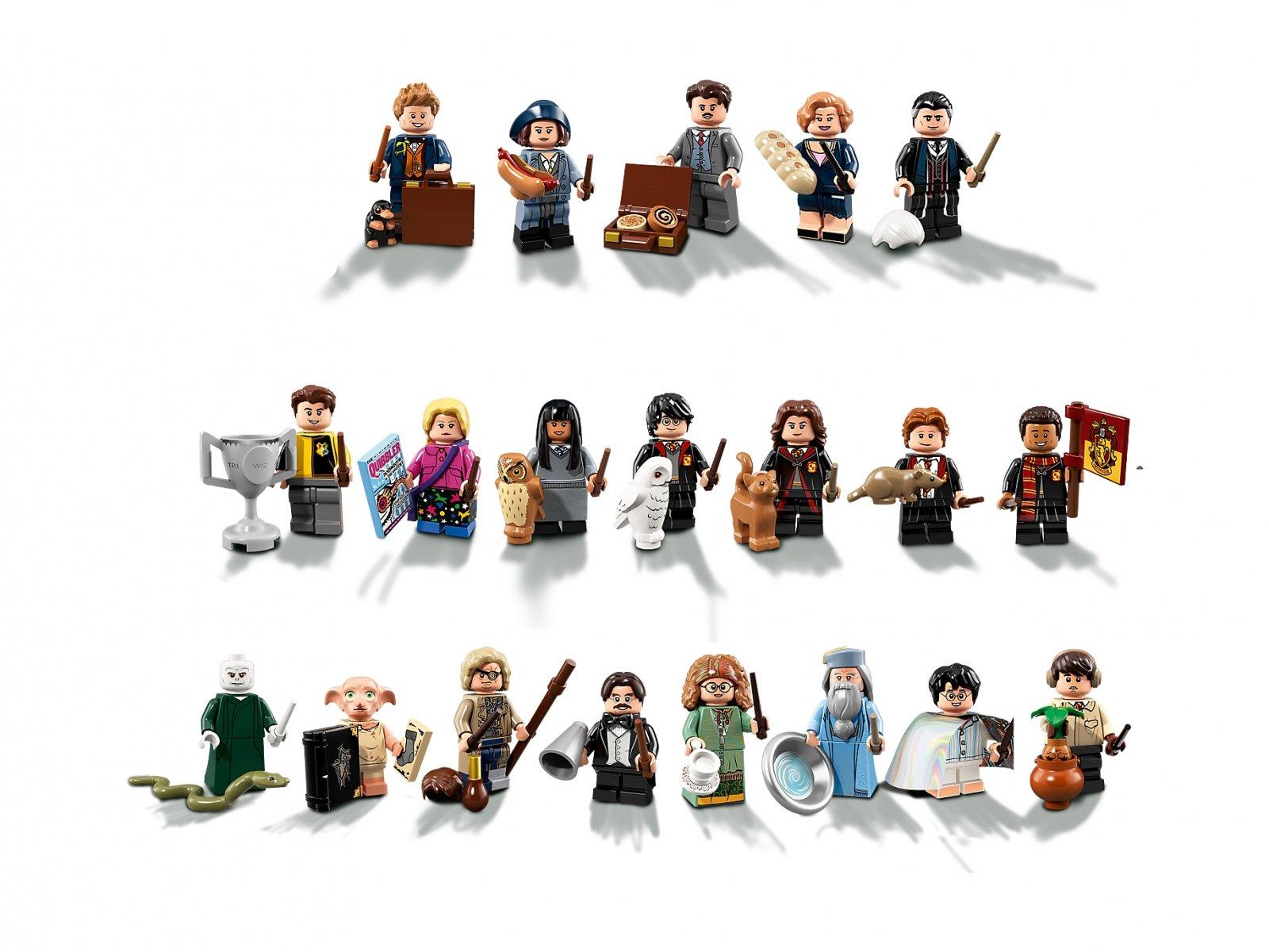 LEGO Minifigurki 71022 Harry Potter™ i Fantastyczne zwierzęta™