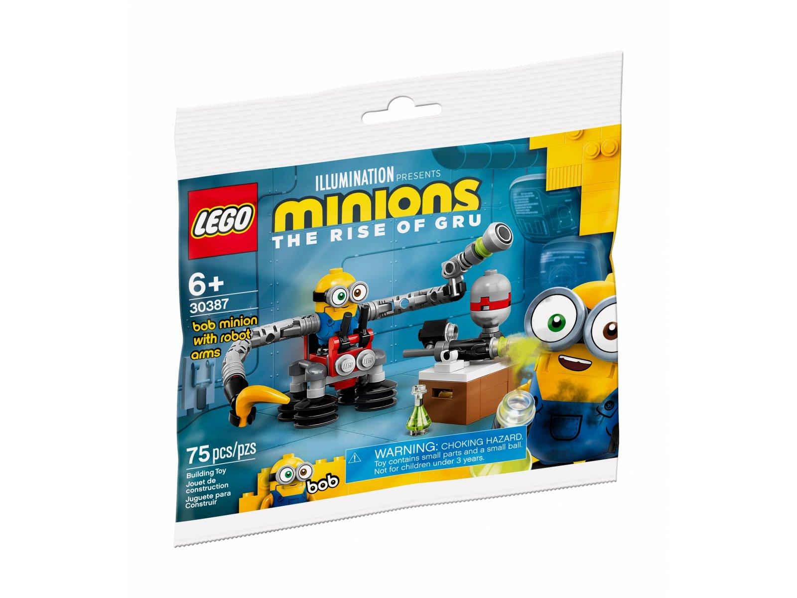 LEGO Minions Bob Minion z ramionami robota 30387