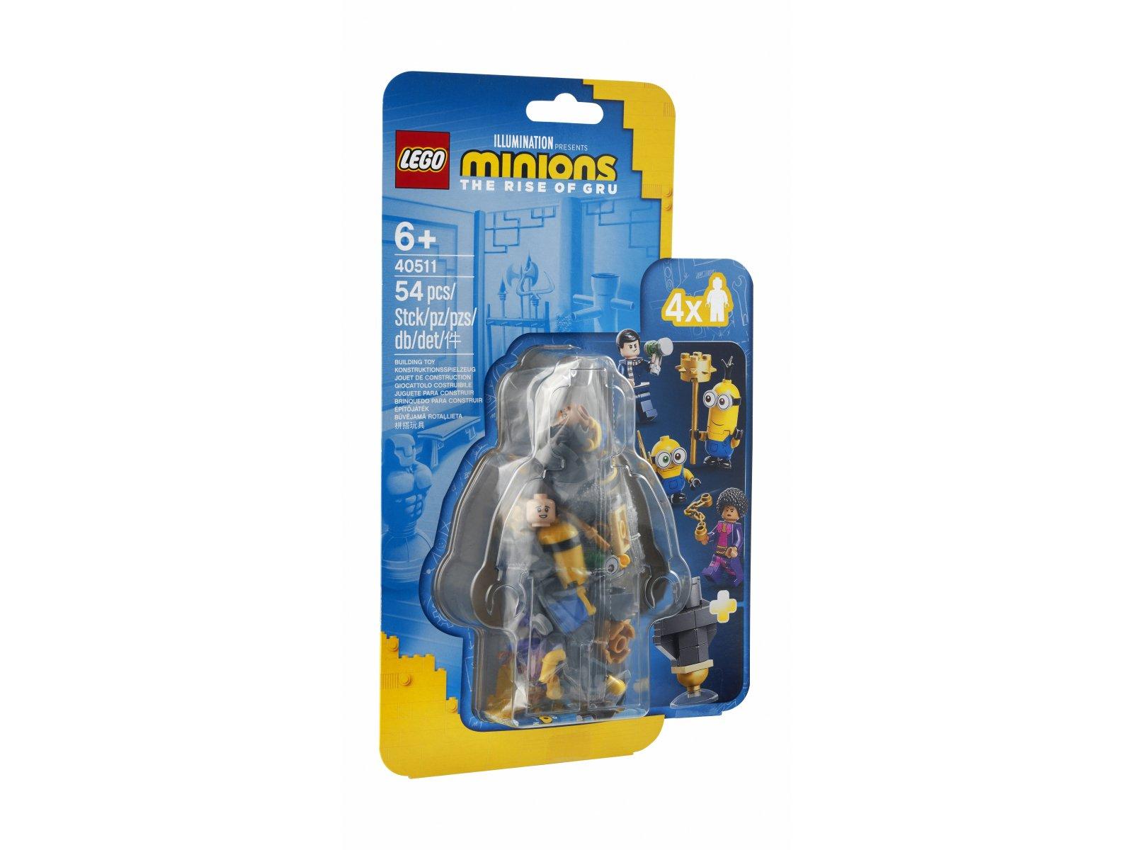 LEGO Minions Minionki i trening kung-fu 40511