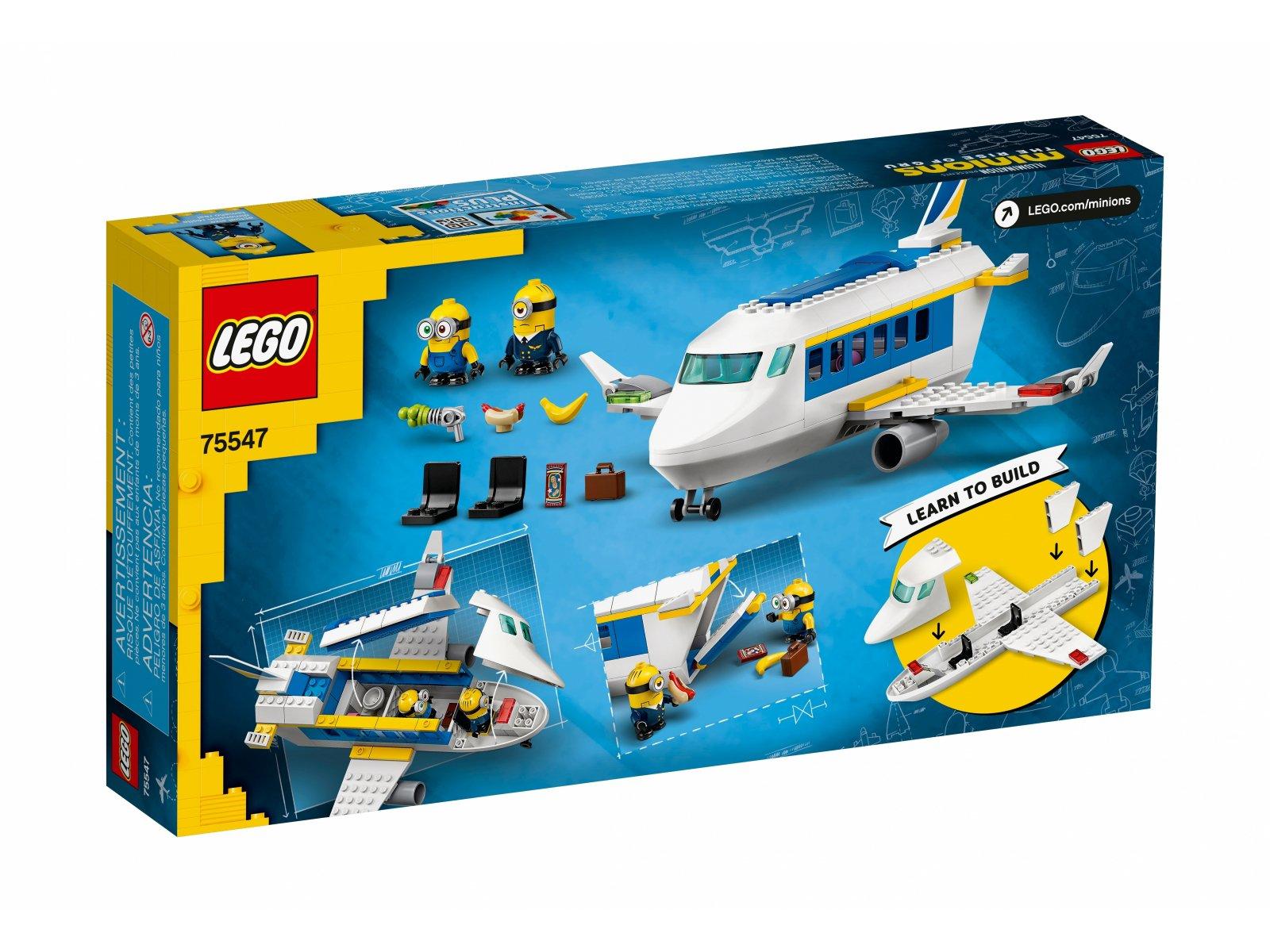 LEGO 75547 Nauka pilotażu Minionka
