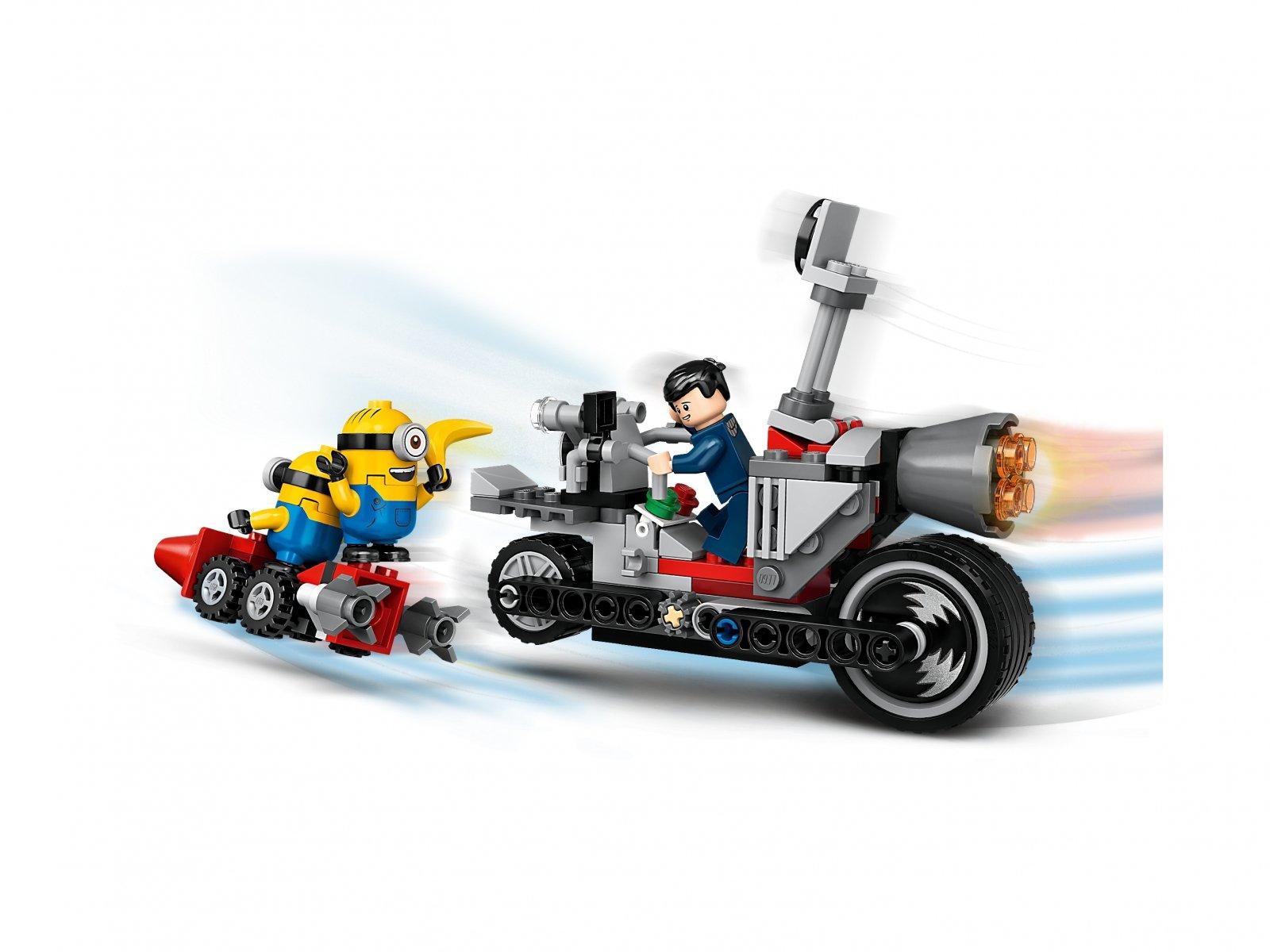 LEGO 75549 Niepowstrzymany motocykl ucieka