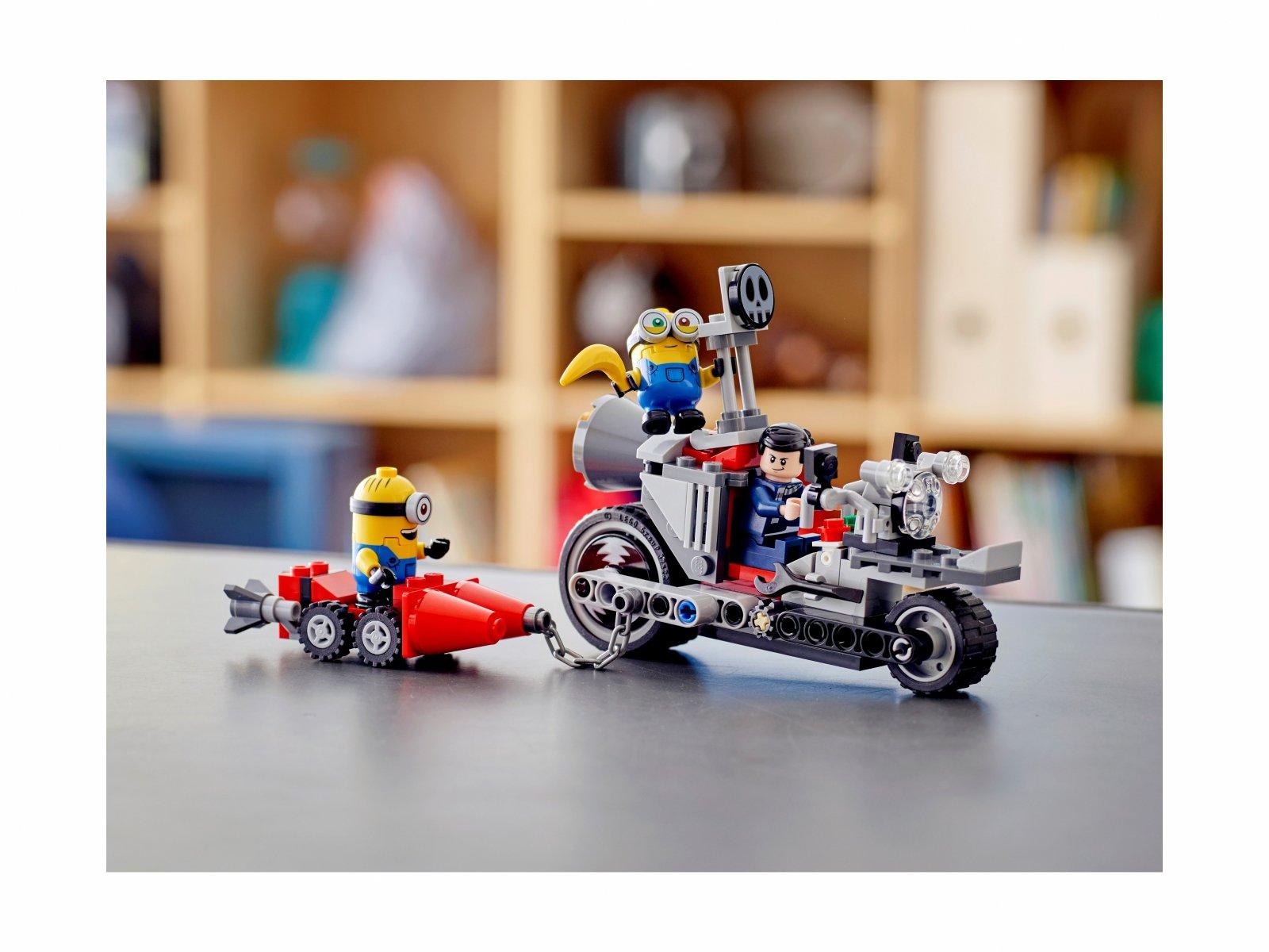 LEGO 75549 Minions Niepowstrzymany motocykl ucieka