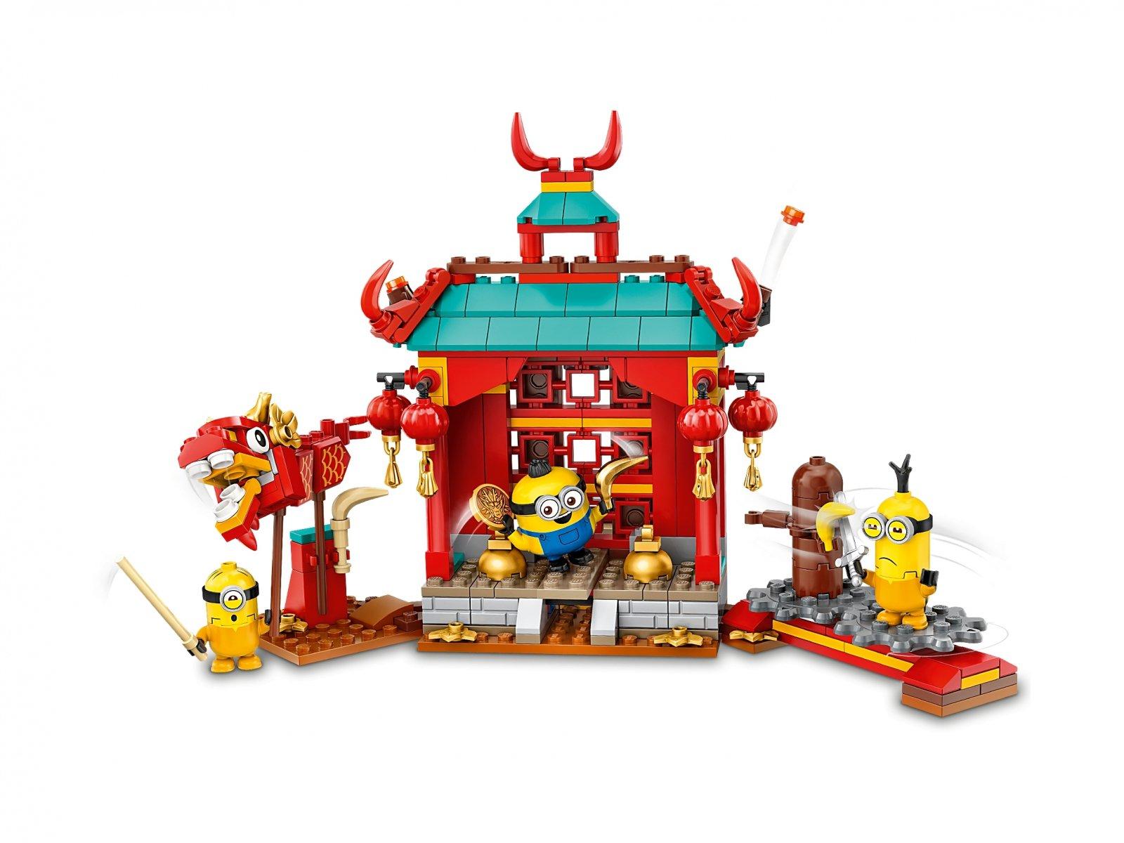 LEGO 75550 Minionki i walka kung-fu