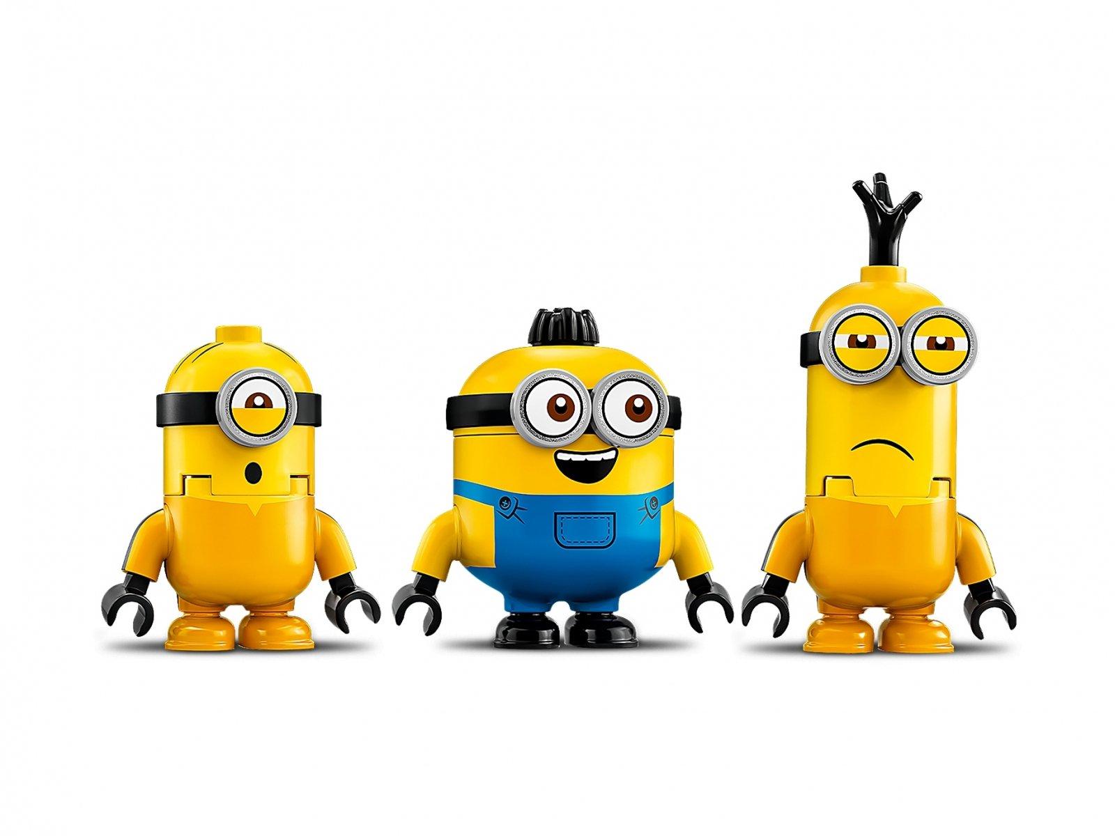 LEGO Minions Minionki i walka kung-fu 75550