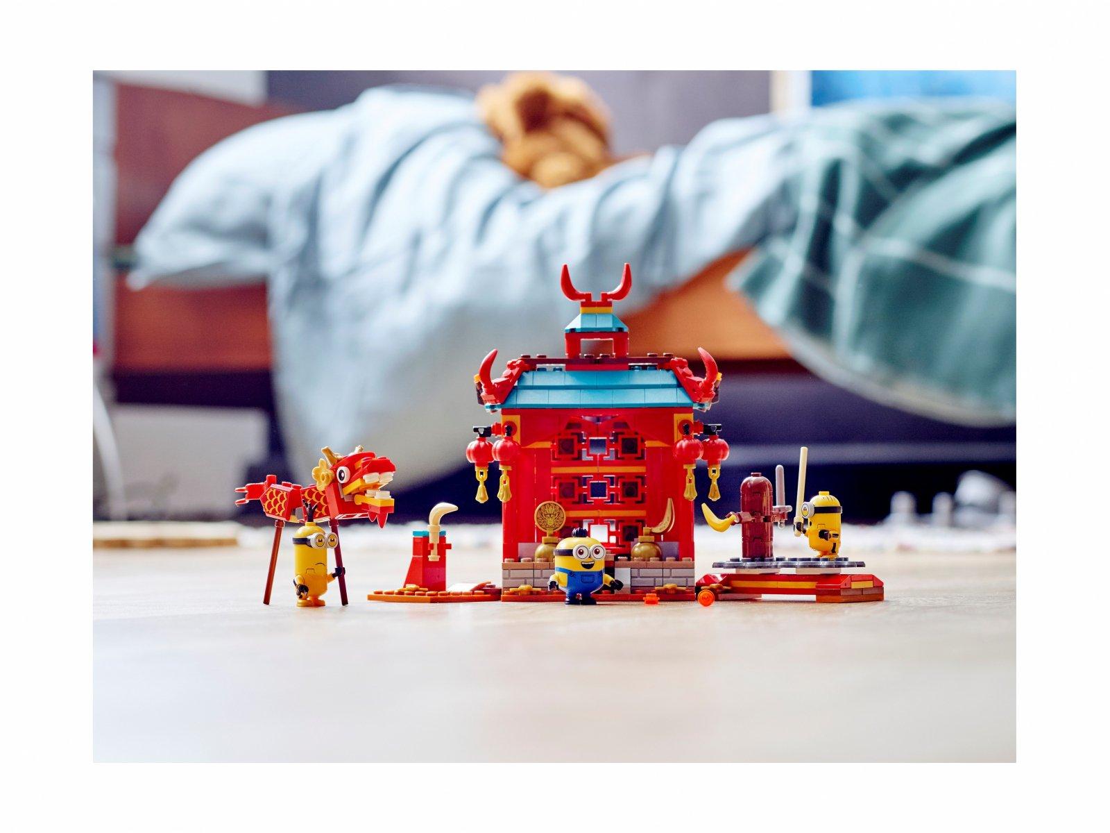LEGO 75550 Minions Minionki i walka kung-fu