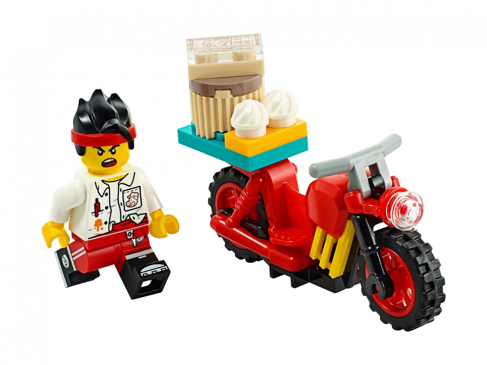 LEGO Monkie Kid Rower kurierski Monkie Kida 30341