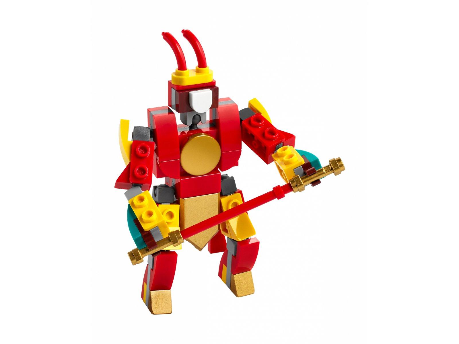 LEGO 30344 Monkie Kid Bojowy minimech Monkey Kinga