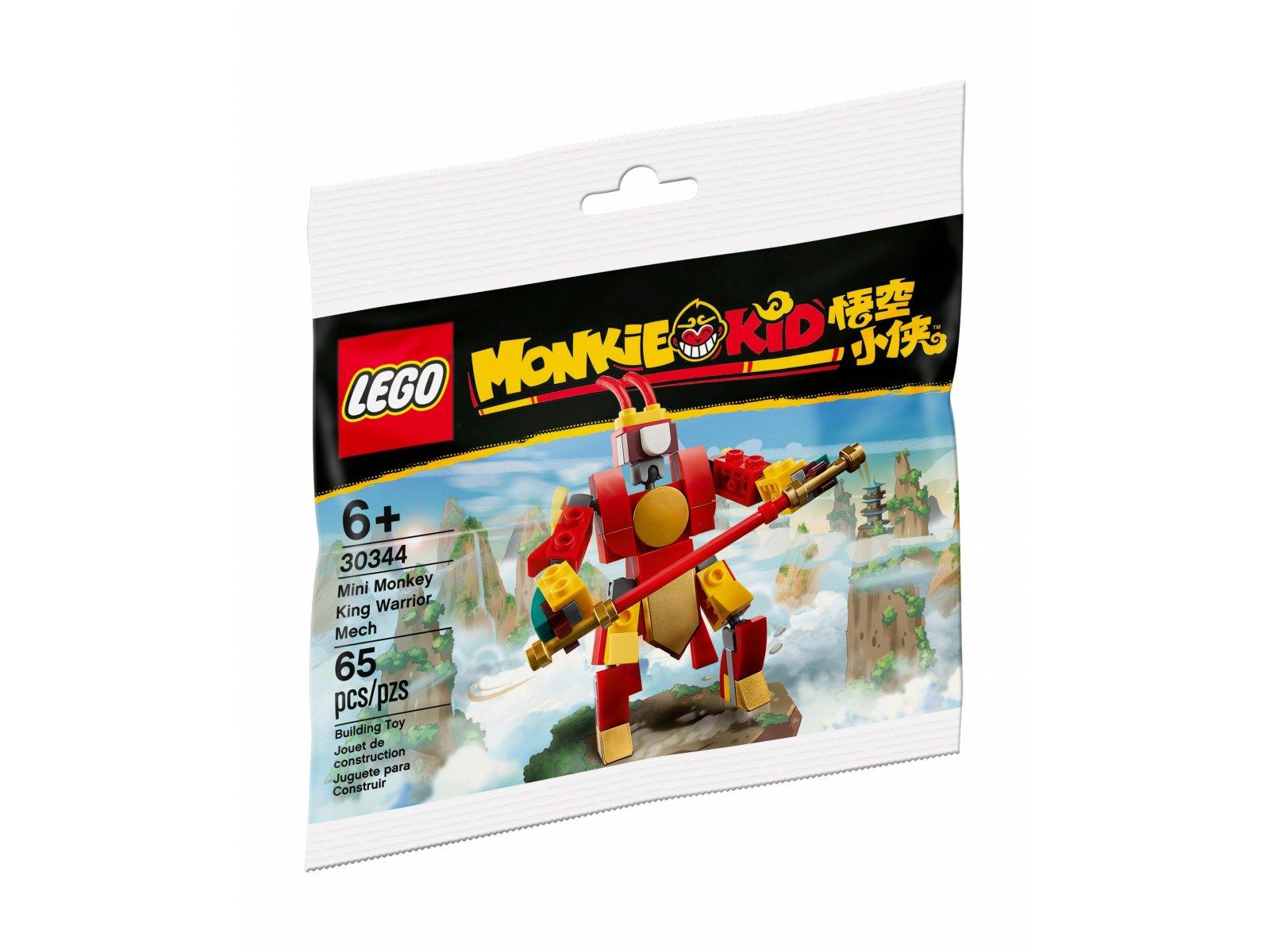 LEGO Monkie Kid 30344 Bojowy minimech Monkey Kinga