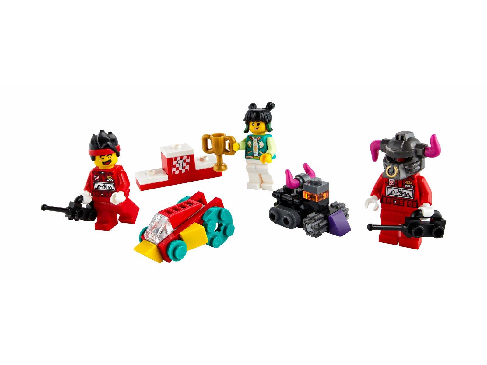 LEGO Monkie Kid 40472 Monkie Kid i wyścig zdalnie sterowanych aut