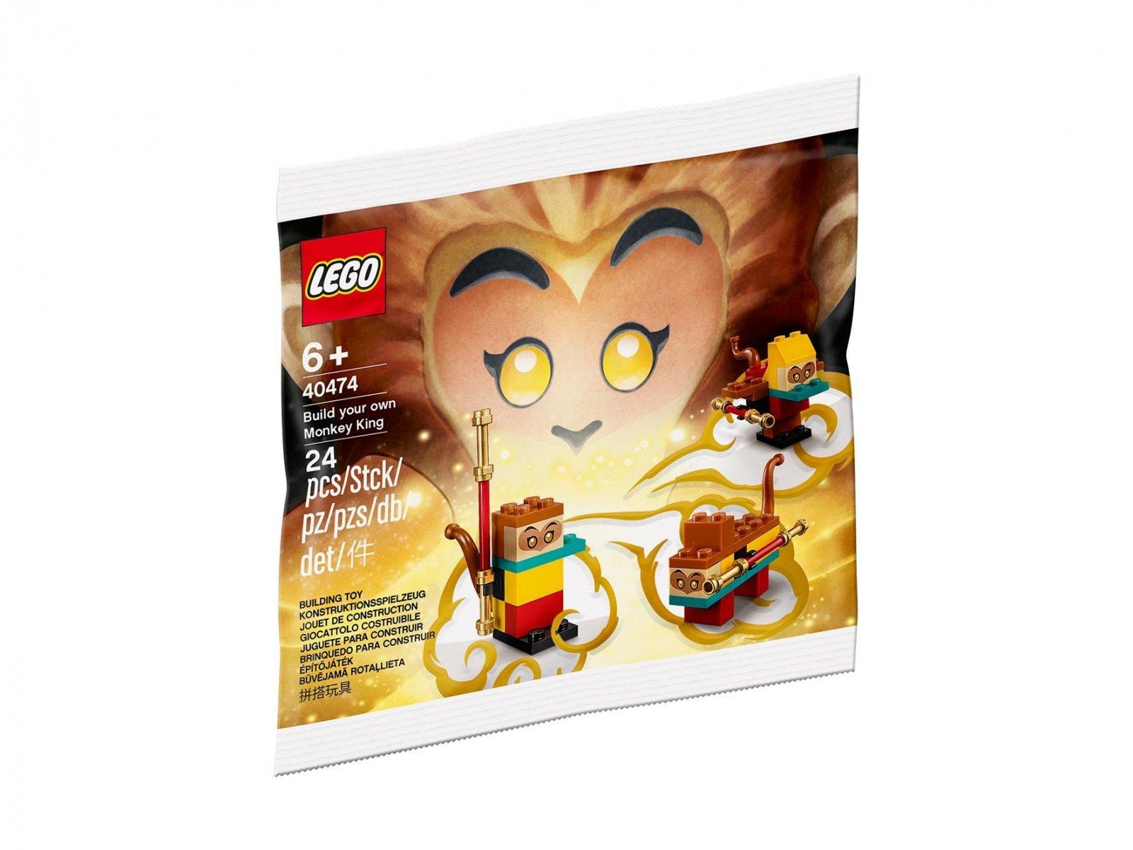 LEGO Monkie Kid Zbuduj własnego Monkey Kinga 40474