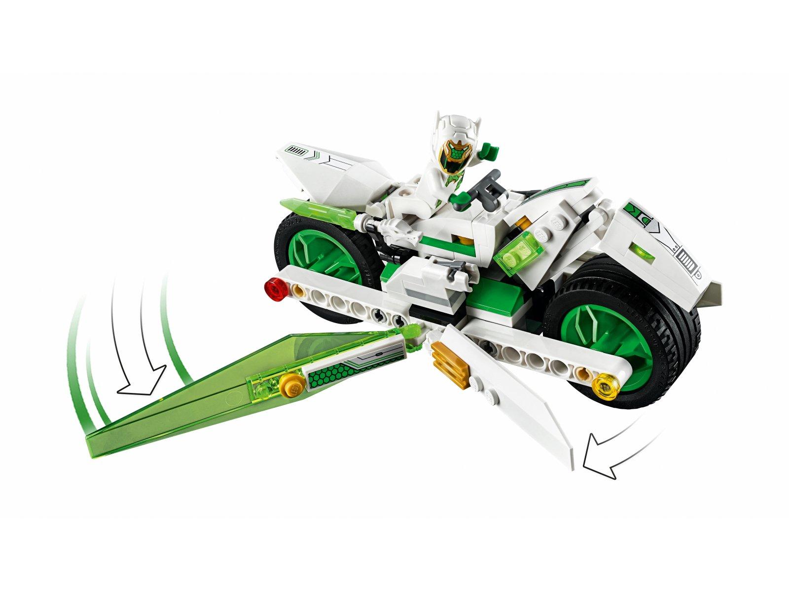 LEGO Monkie Kid™ 80006 Motocykl Biały Smok