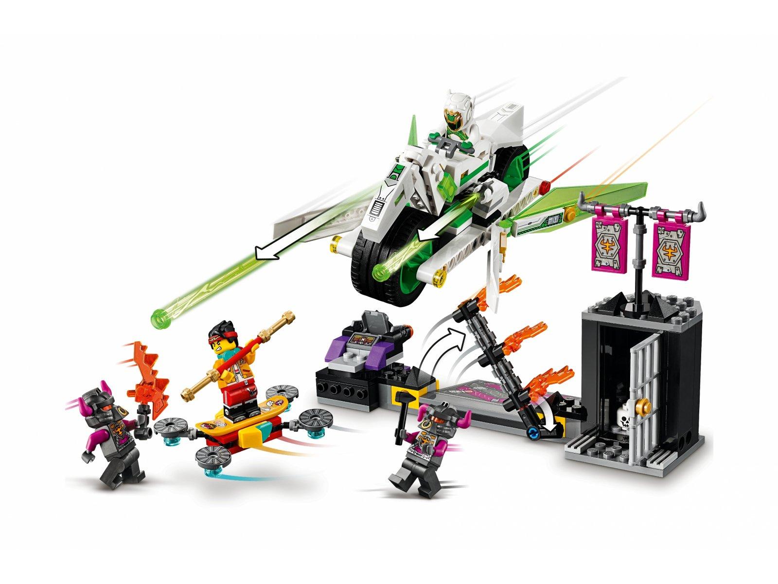 LEGO Monkie Kid™ Motocykl Biały Smok 80006