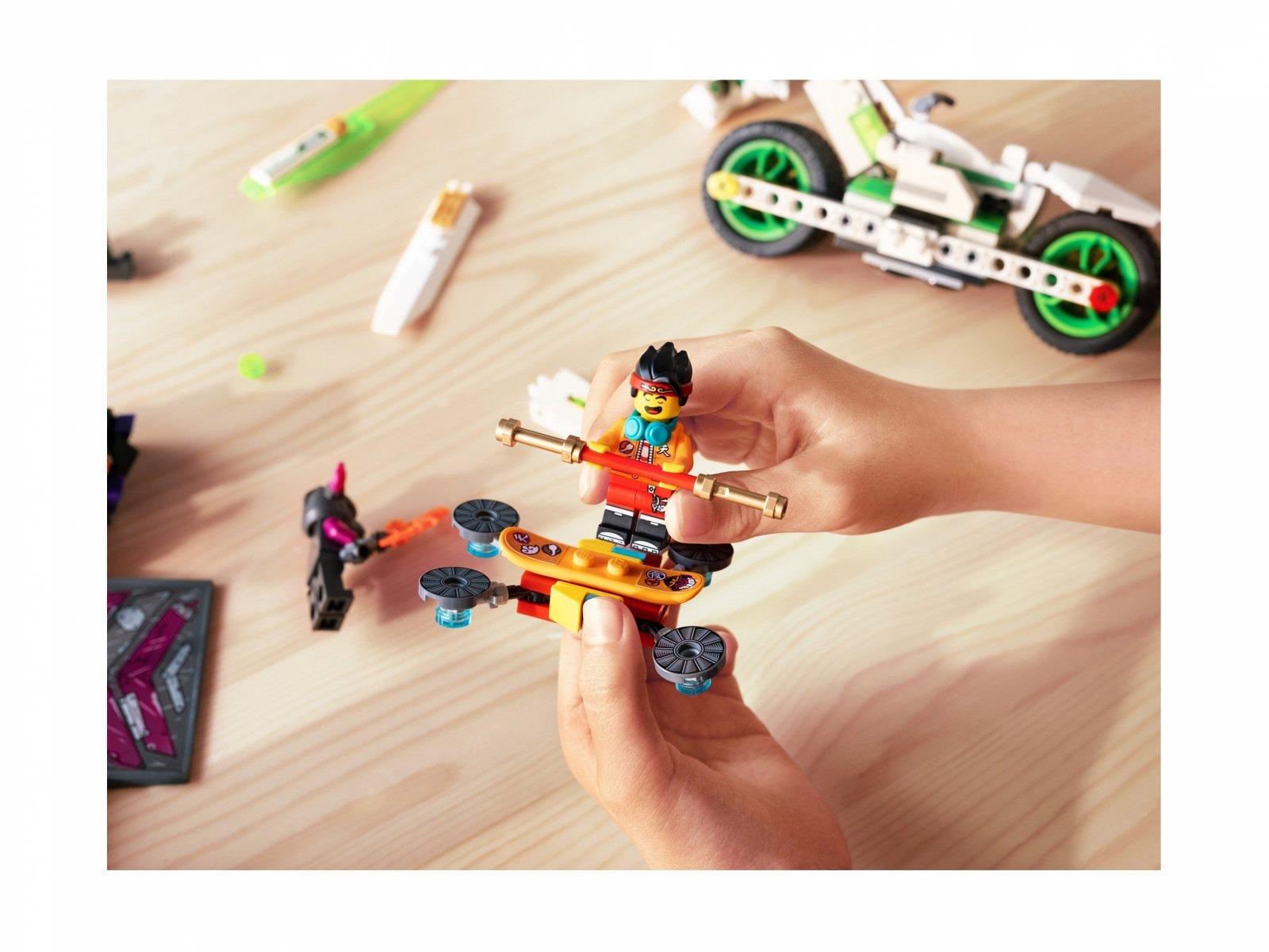 LEGO 80006 Monkie Kid™ Motocykl Biały Smok